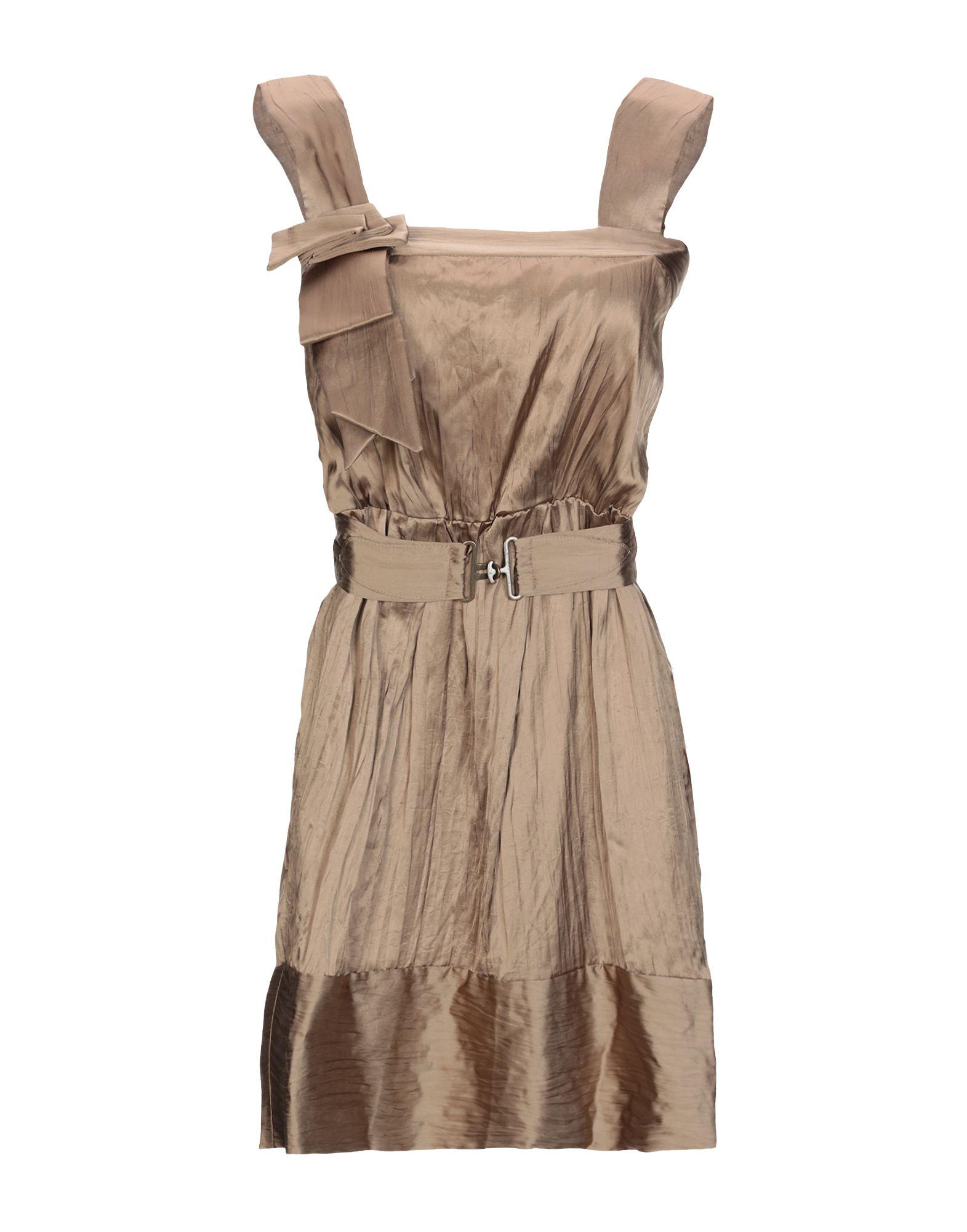 GOLD CASE SOGNO Короткое платье gold case pубашка