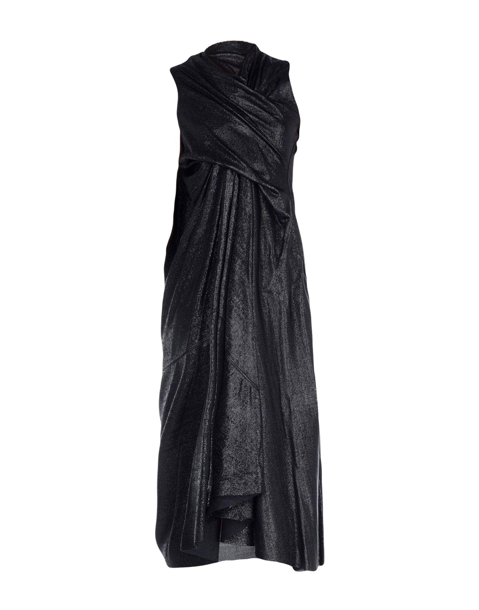 цена RICK OWENS LILIES Длинное платье онлайн в 2017 году