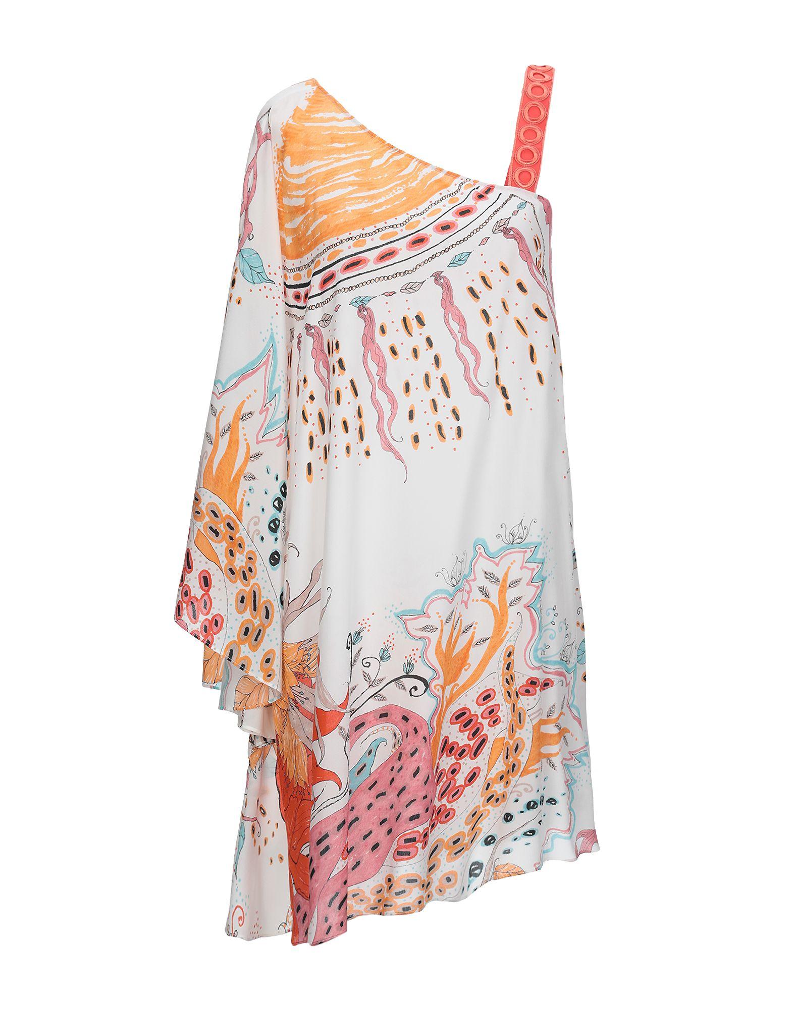 купить ROBERTO CAVALLI Короткое платье по цене 37350 рублей