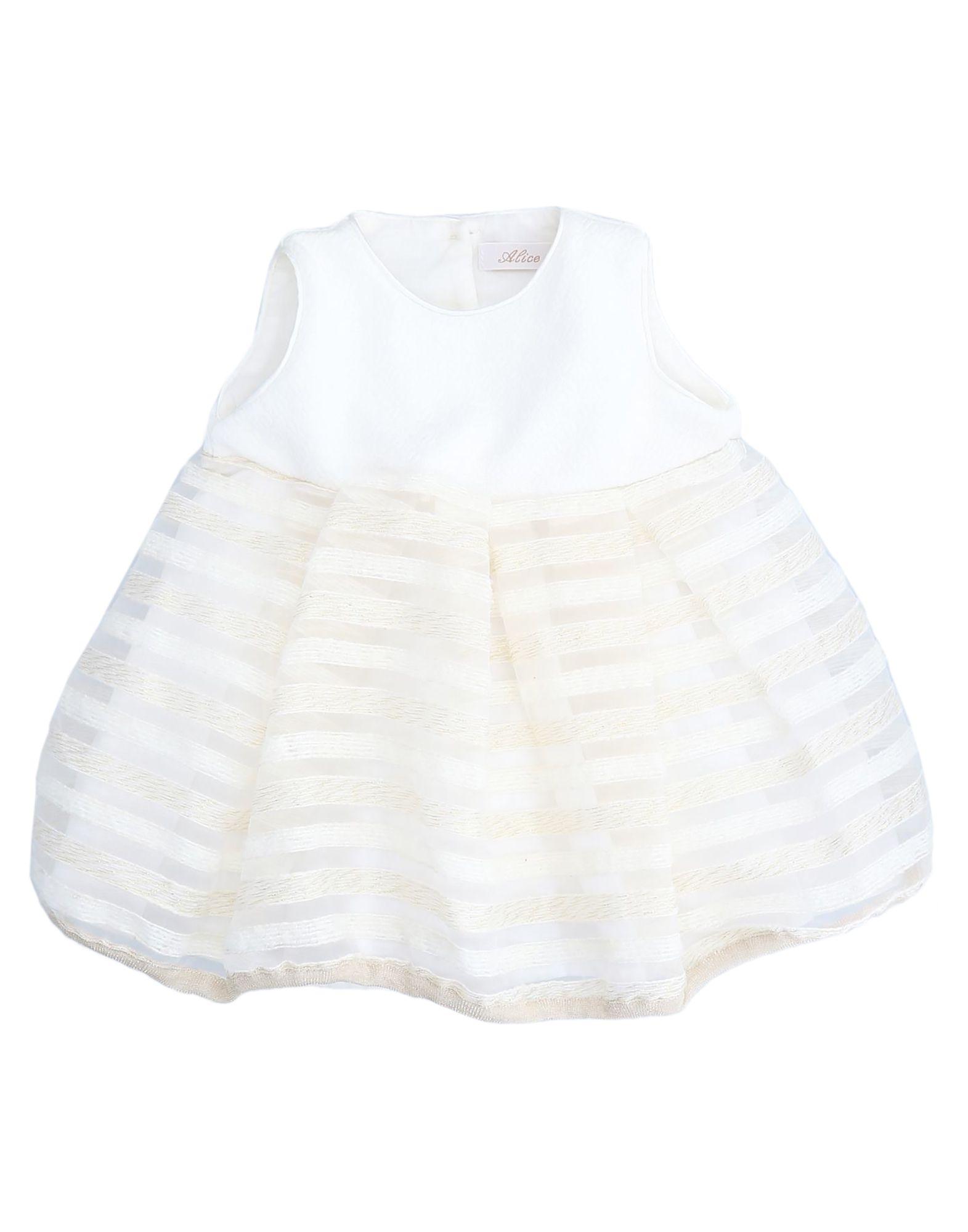 Alice Pi. Kids' Dresses In White