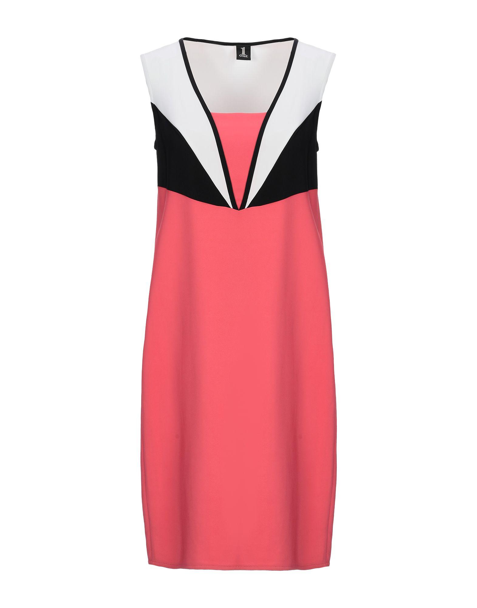 1-ONE Короткое платье недорго, оригинальная цена