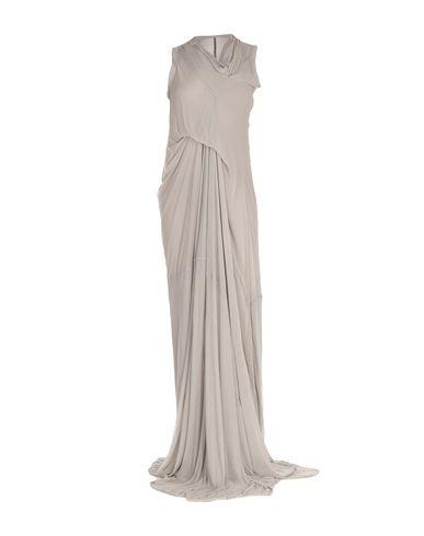 Фото - Женское длинное платье  светло-серого цвета