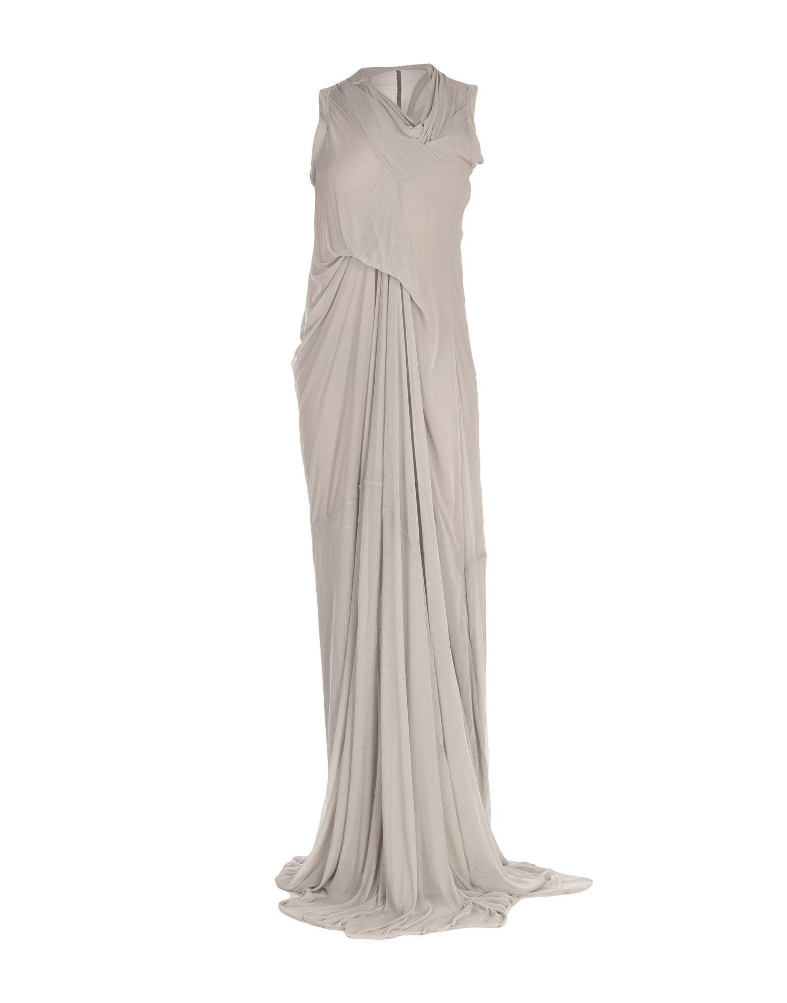 RICK OWENS LILIES Длинное платье длинное платье с узорами lamiavita
