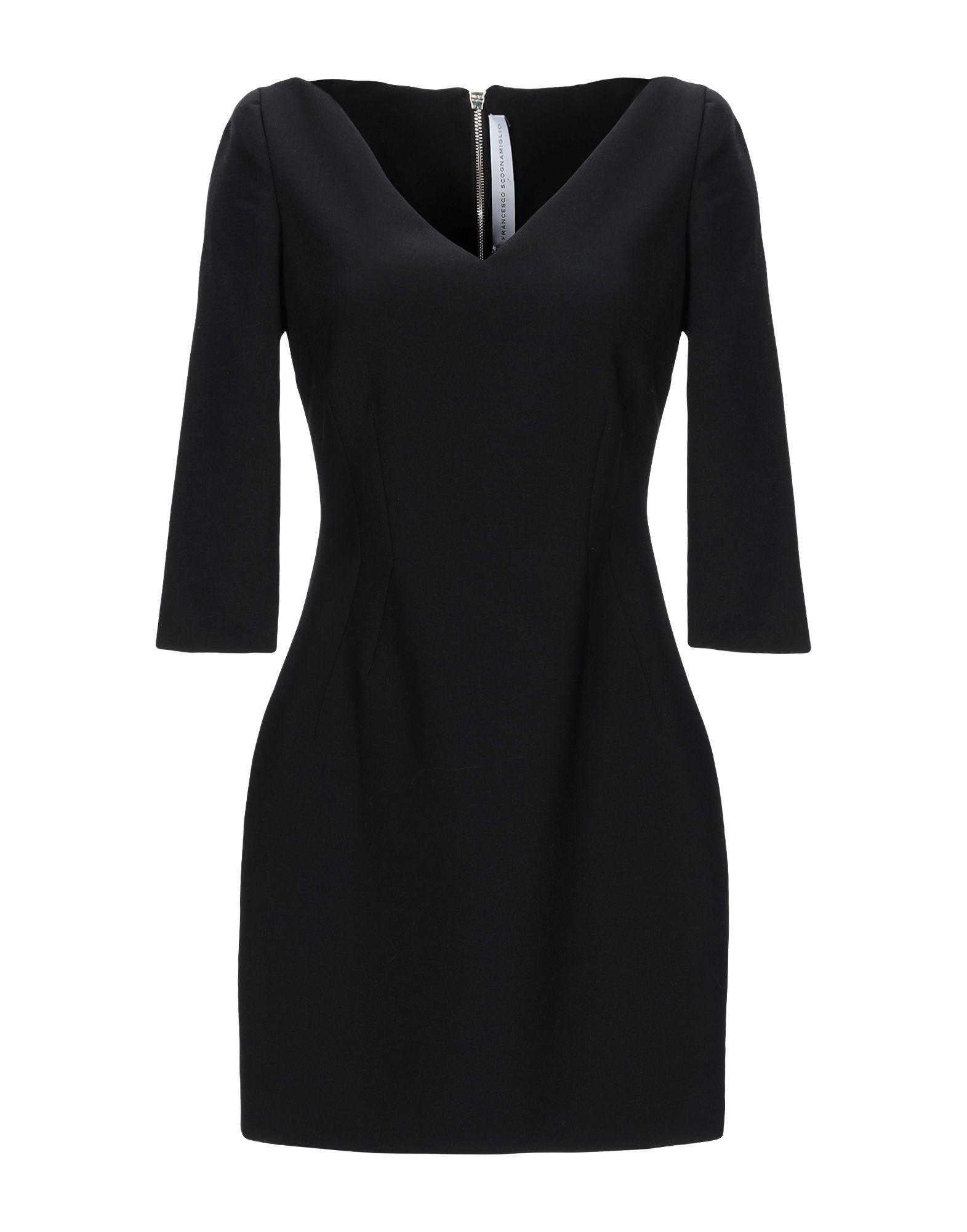 FRANCESCO SCOGNAMIGLIO Короткое платье недорго, оригинальная цена