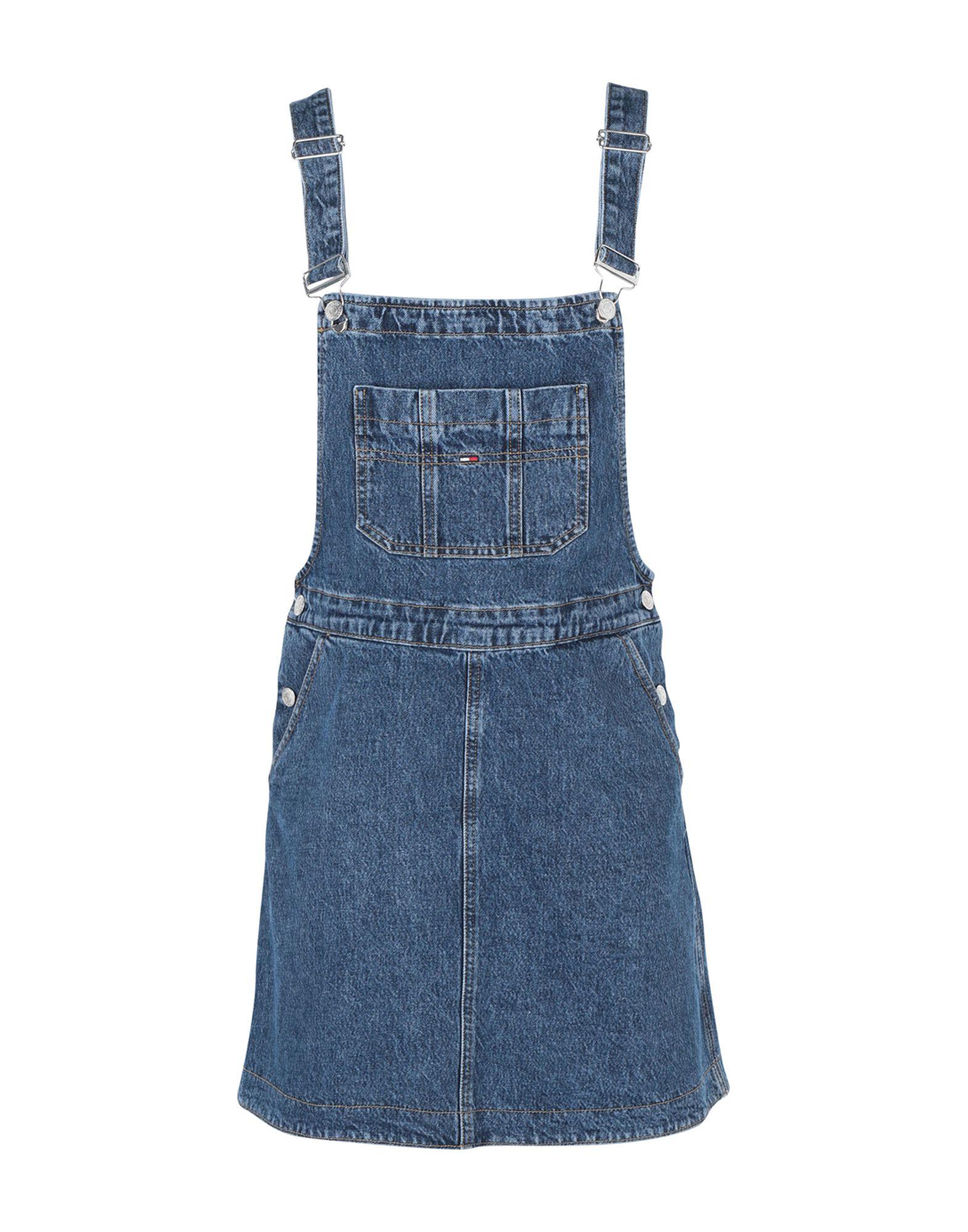 TOMMY JEANS Короткое платье платье tommy jeans tommy jeans to052ewbwgf8