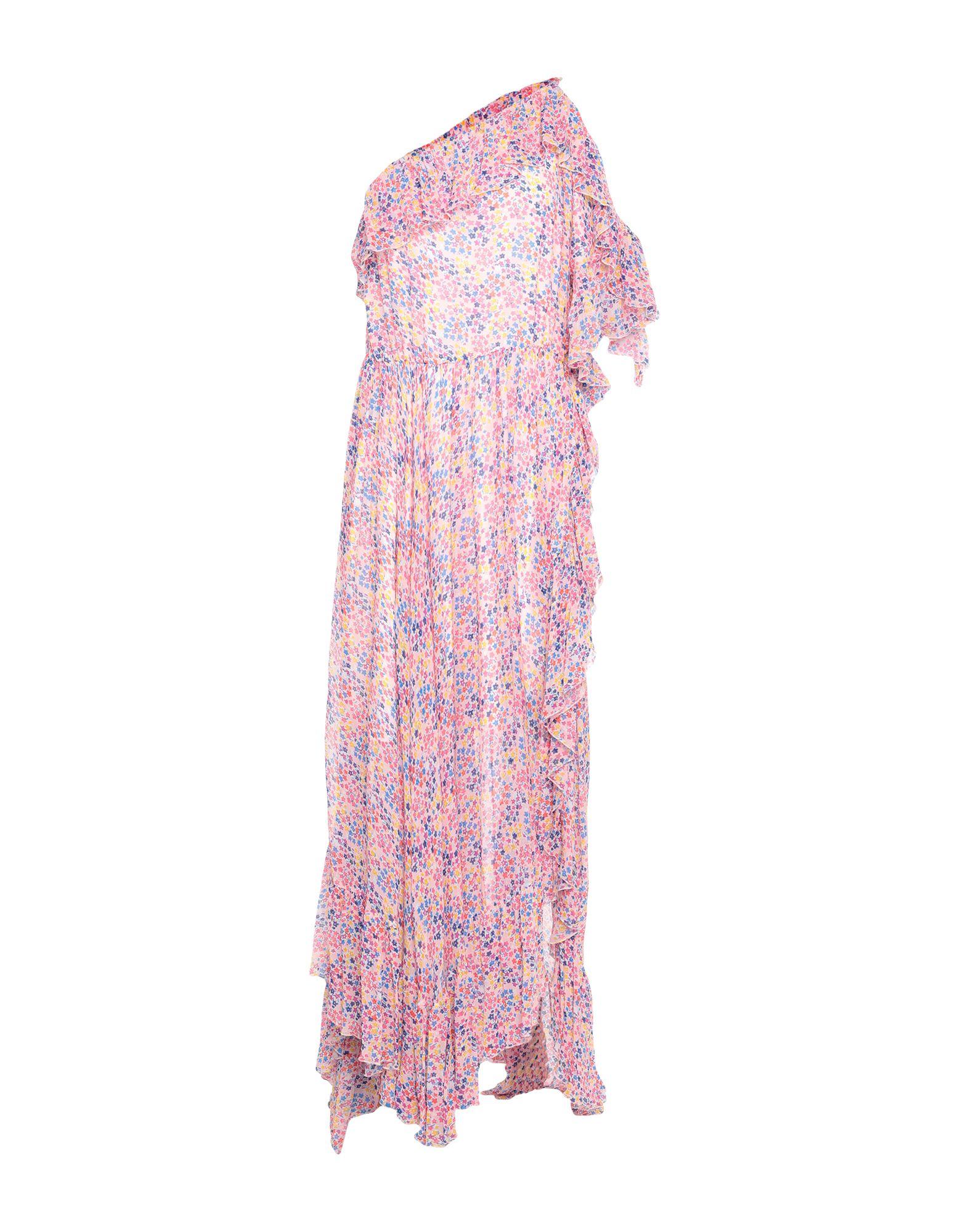 《セール開催中》PHILOSOPHY di LORENZO SERAFINI レディース ロングワンピース&ドレス ピンク 40 レーヨン 100%