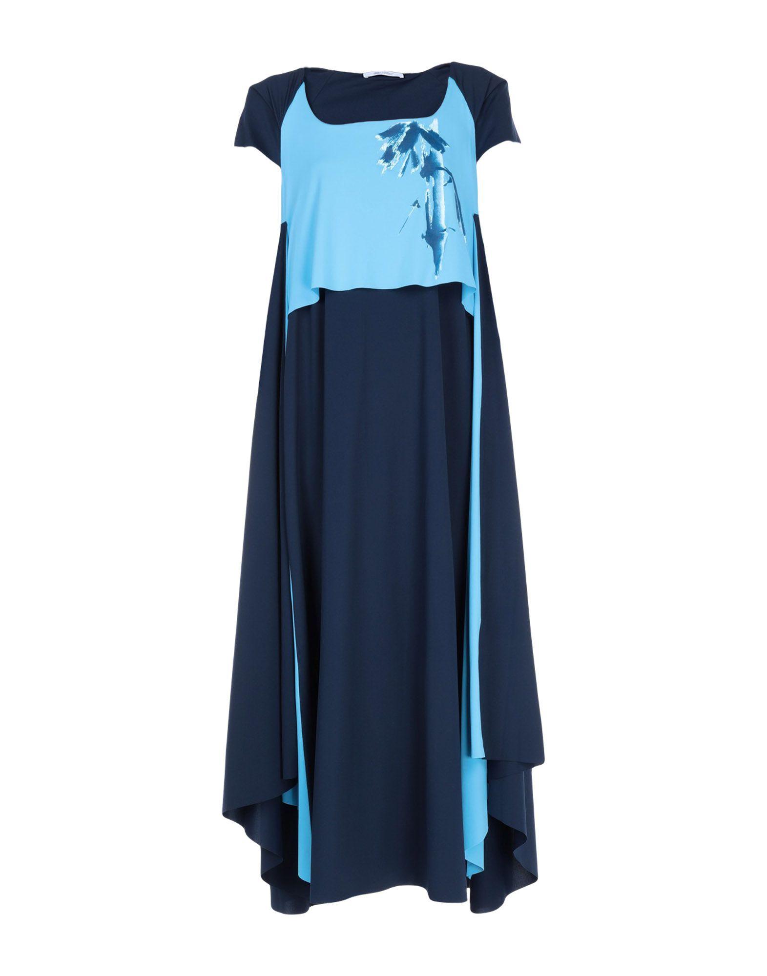 OBLIQUE CREATIONS Платье длиной 3/4