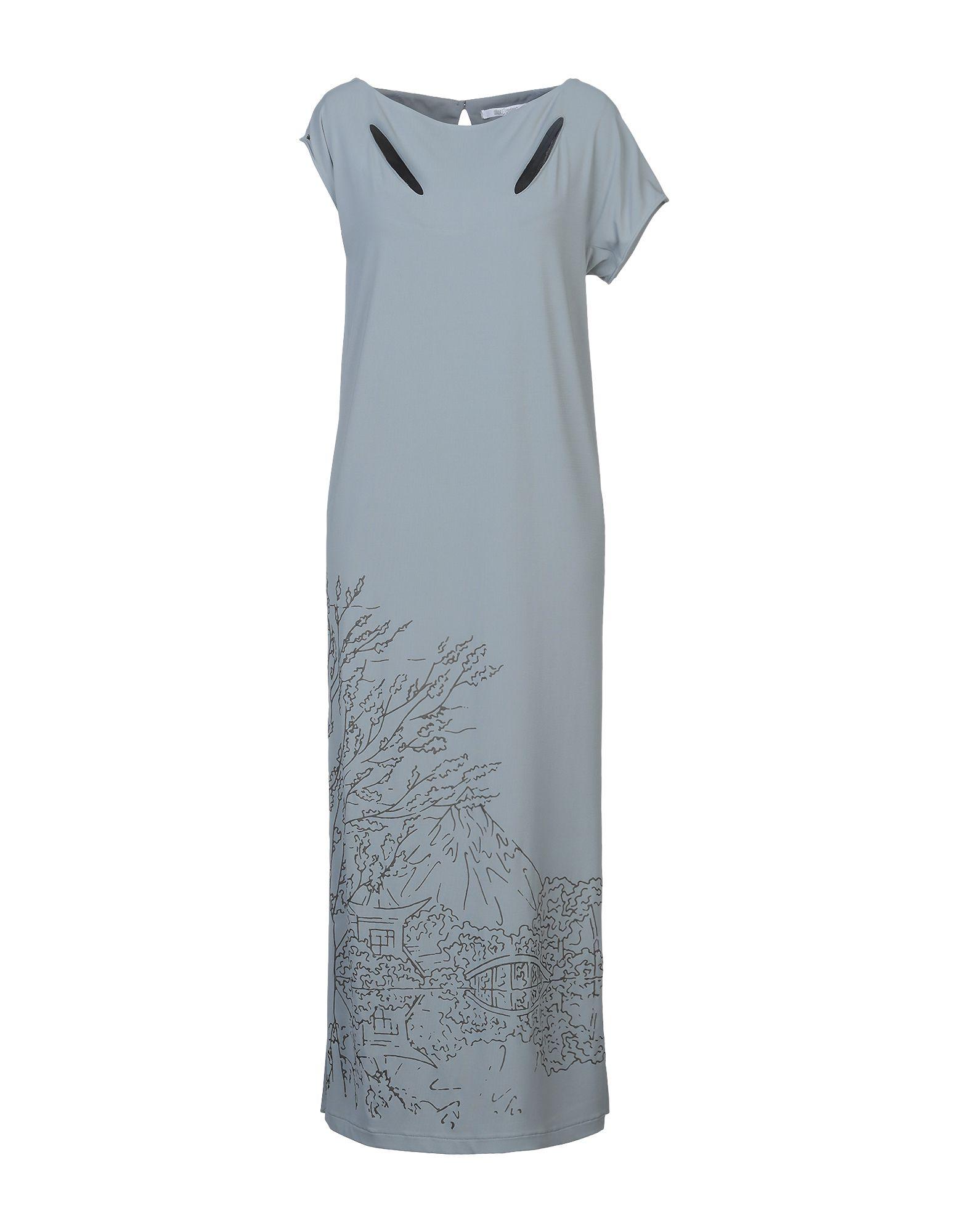 OBLIQUE CREATIONS Длинное платье изящное платье в деловом стиле oblique