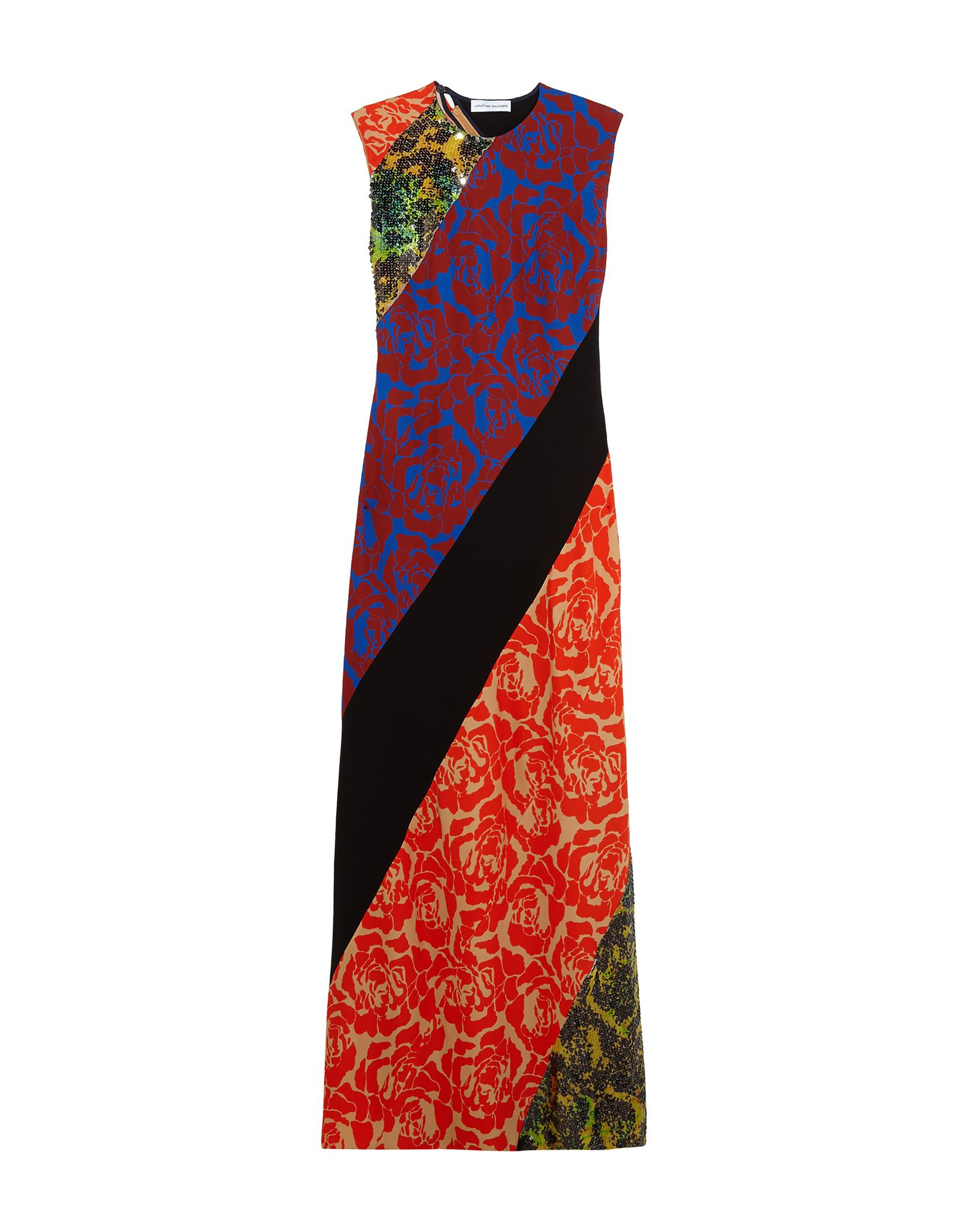 JONATHAN SAUNDERS Длинное платье цена 2017