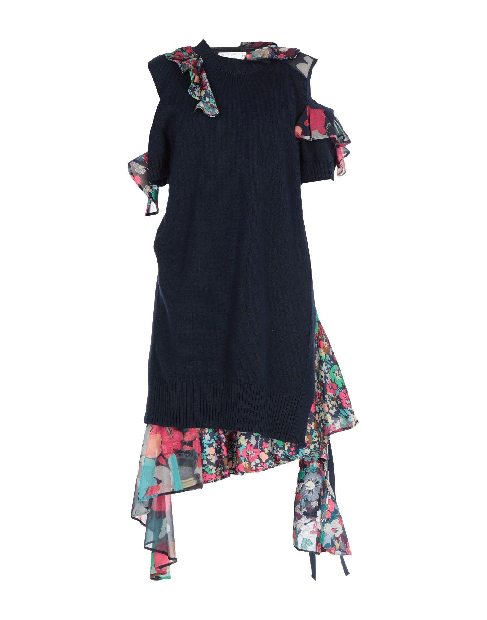 купить SACAI Платье до колена по цене 86000 рублей