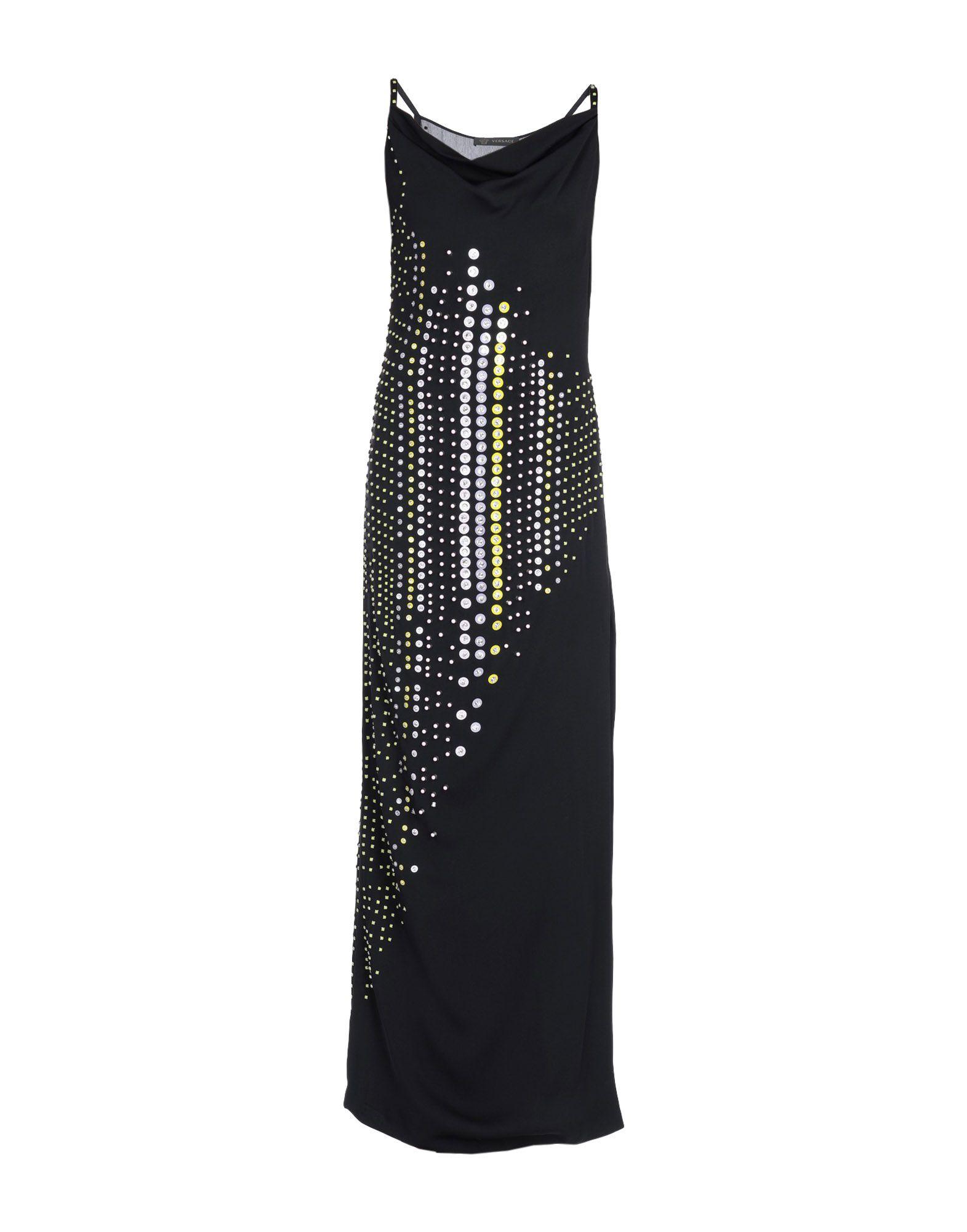 VERSACE Длинное платье длинное платье с узорами lamiavita