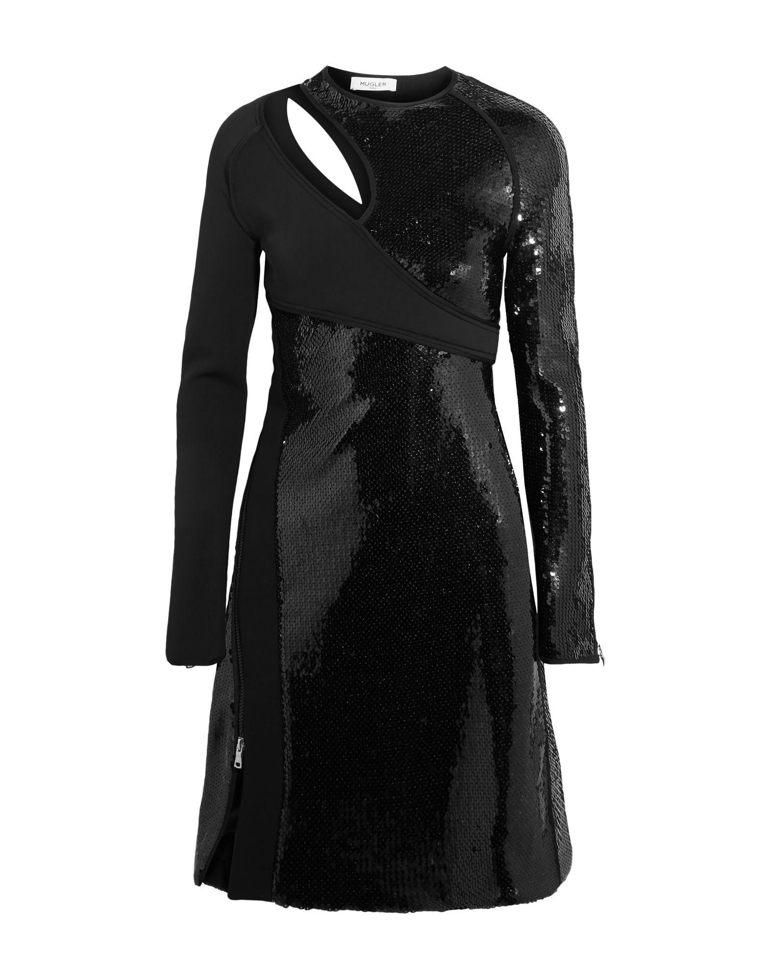 MUGLER Короткое платье platinor platinor 91750 517