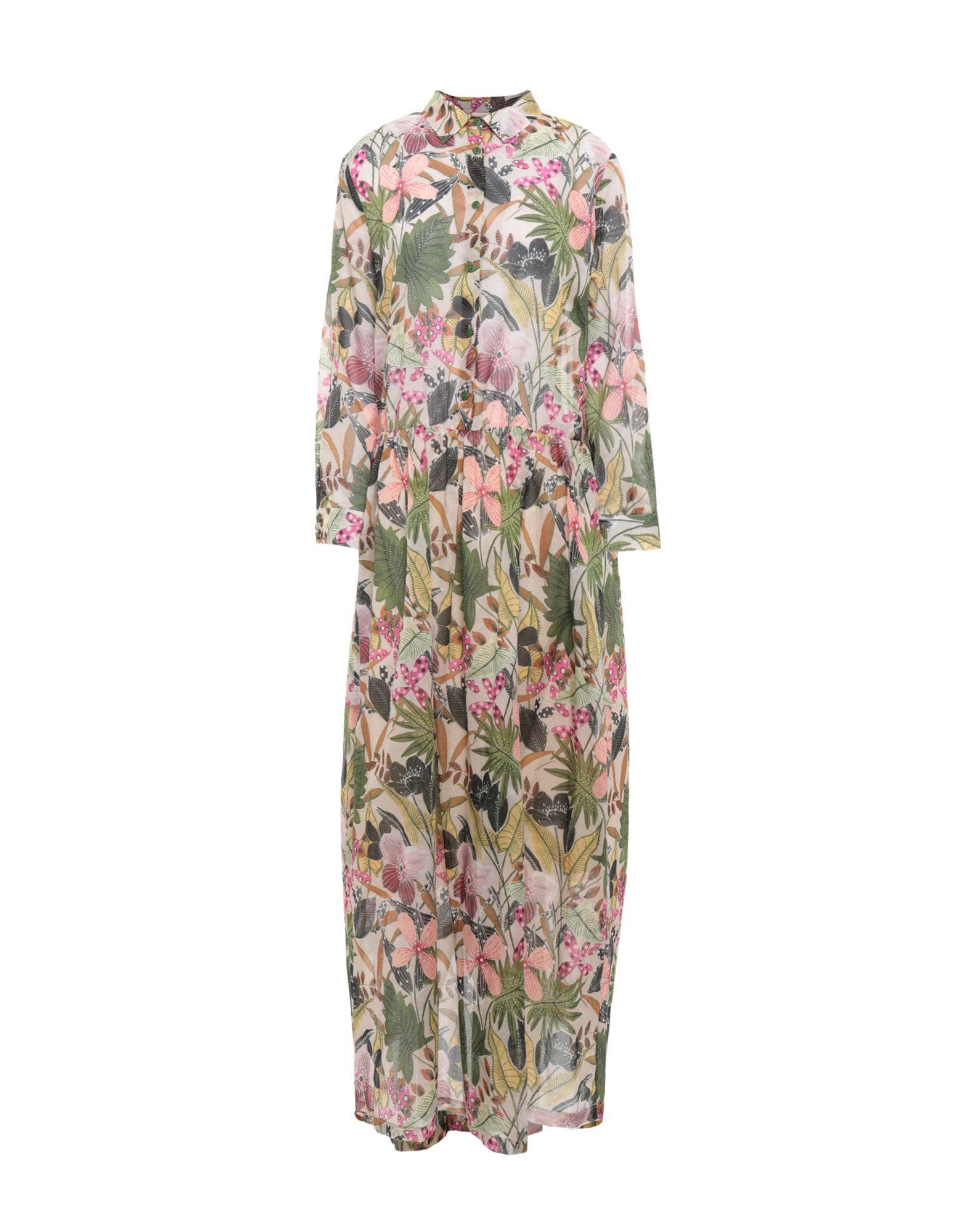 EMMA Длинное платье dress emma monti платья и сарафаны приталенные