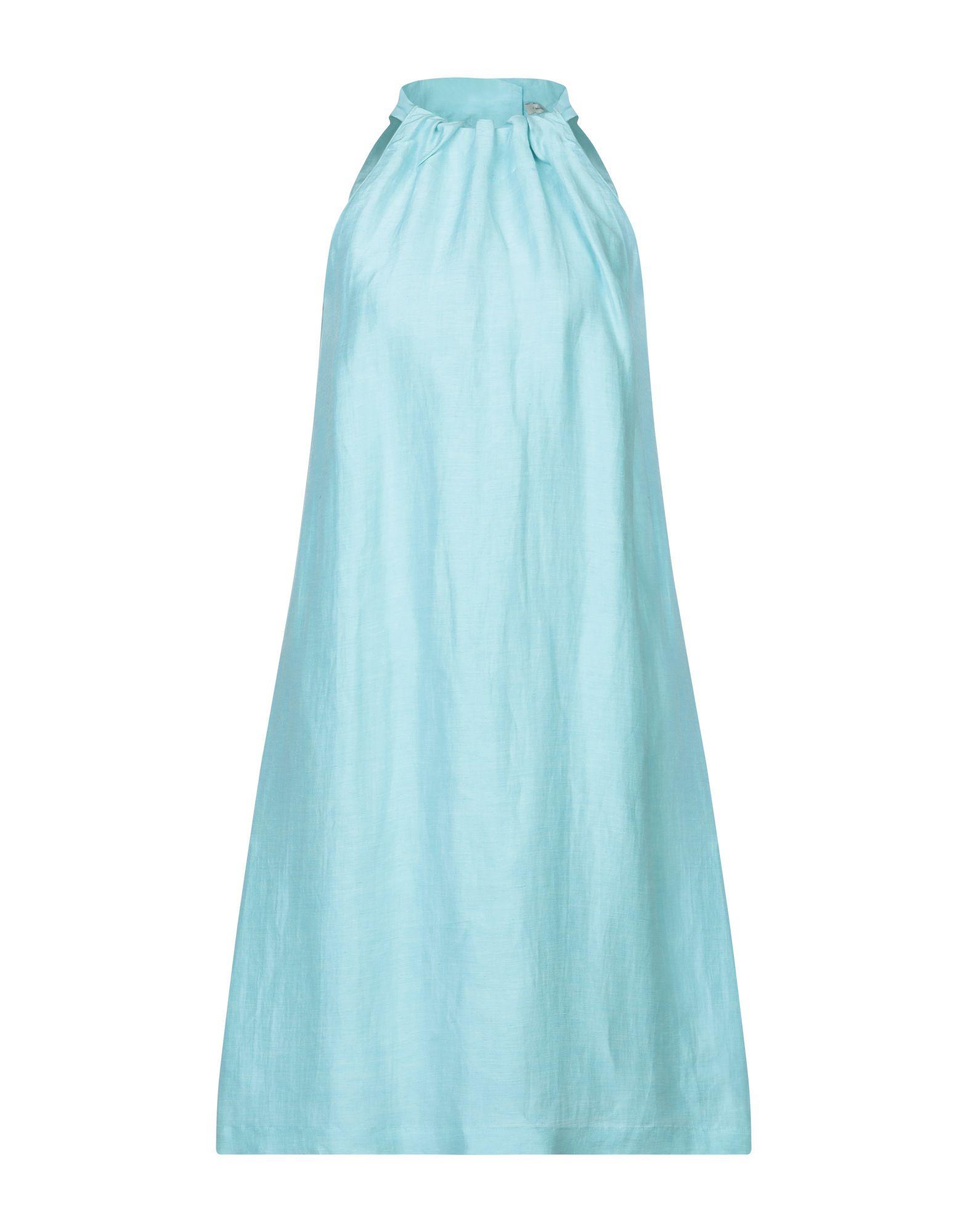 JUPE DE SATIN Платье до колена цена
