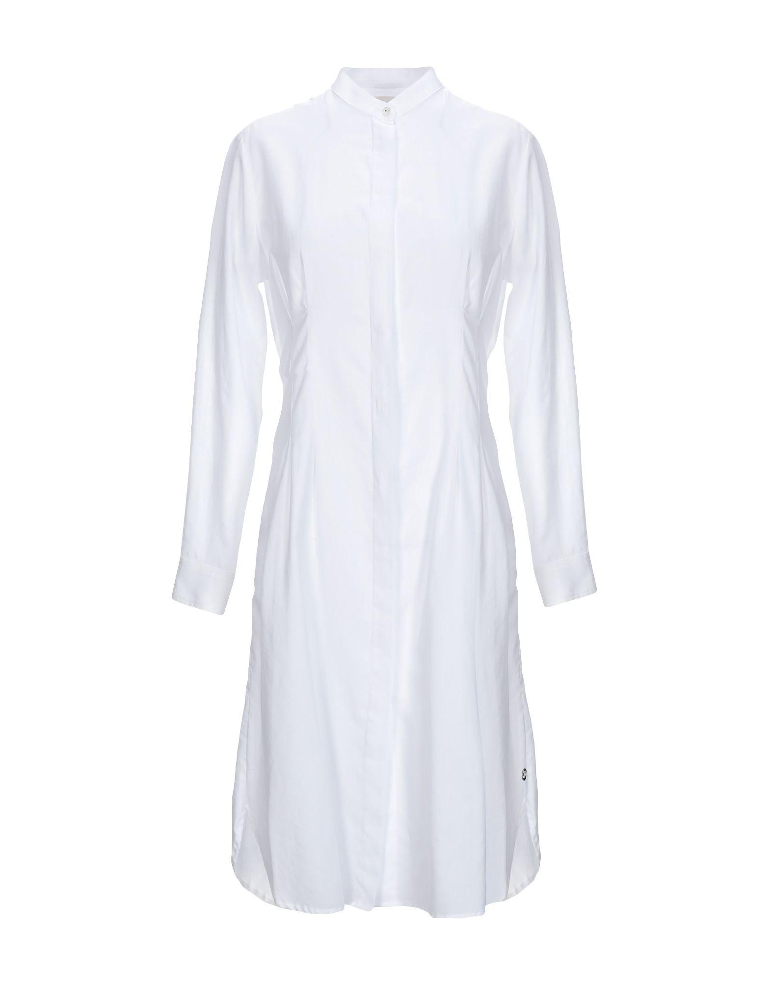 OTTOD'AME Короткое платье платье рубашка fox yulia sway платье рубашка fox