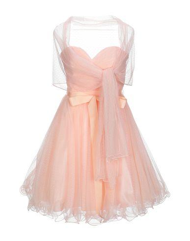 Фото - Женское короткое платье FASHION NEW YORK Paris светло-розового цвета