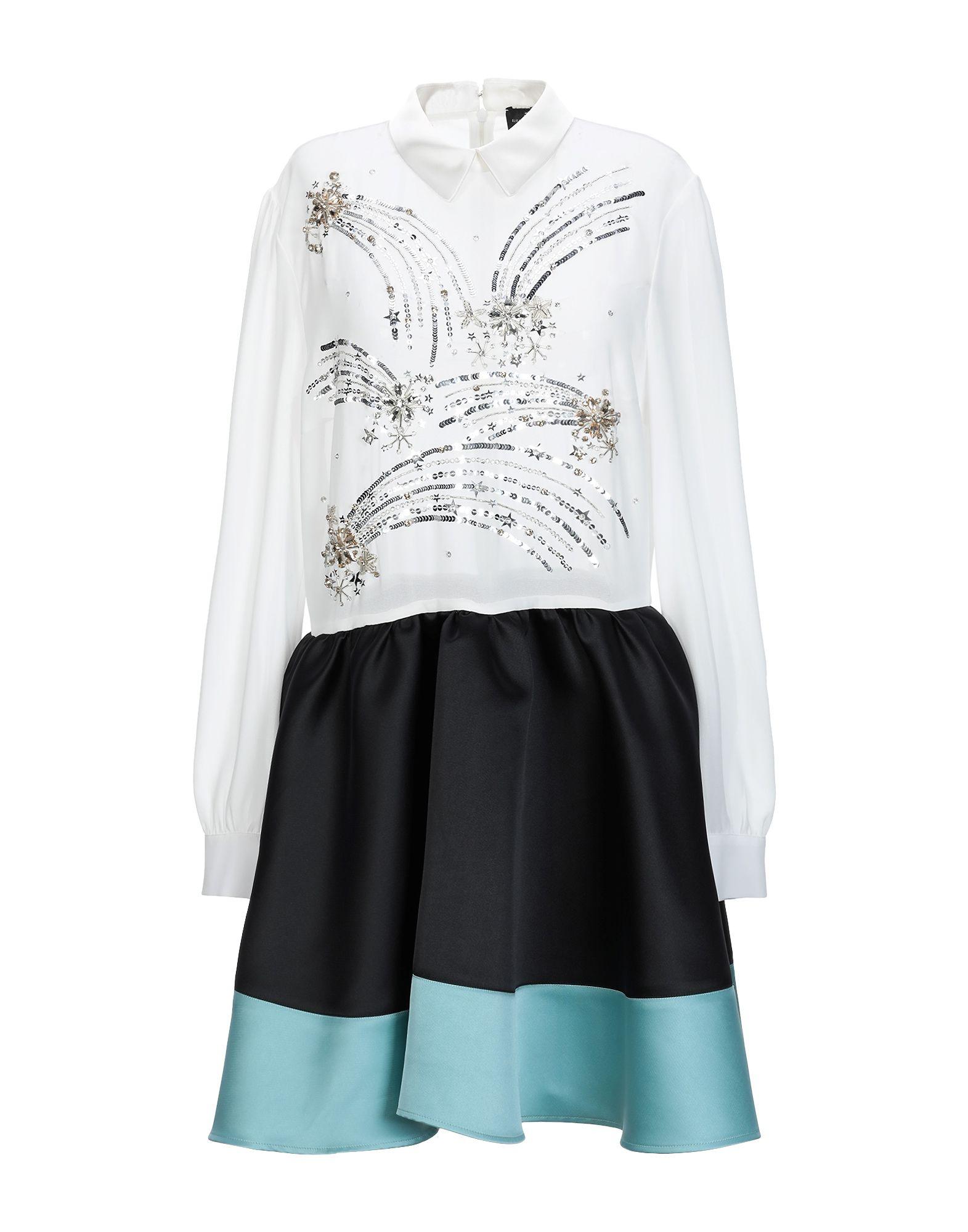 ELISABETTA FRANCHI Короткое платье платье