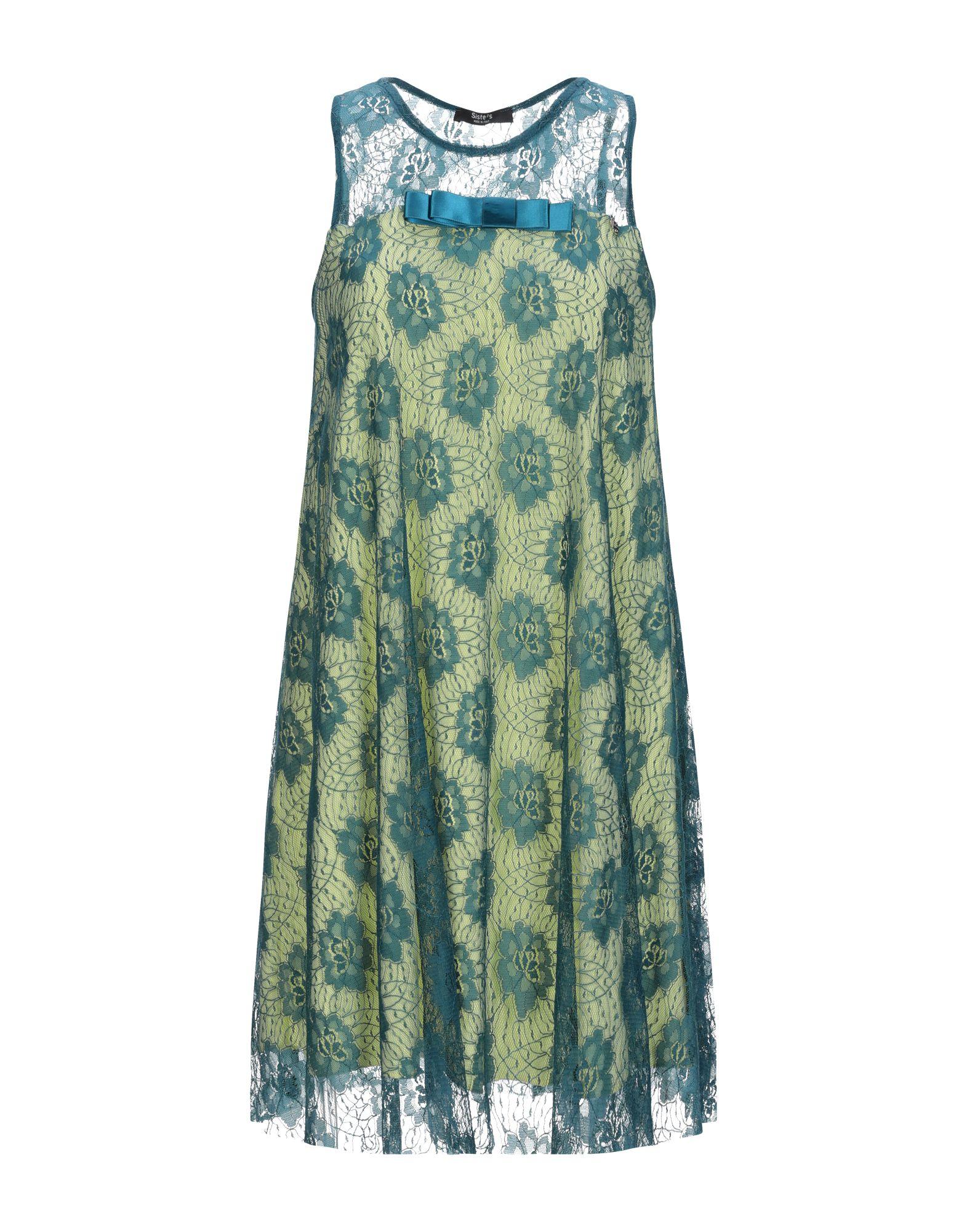 SISTE' S Короткое платье siste s длинная юбка