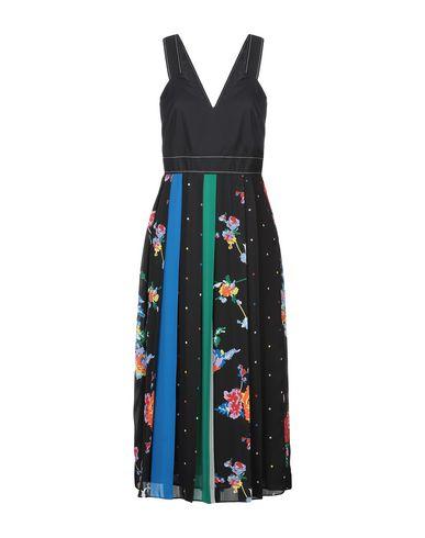 Фото - Платье длиной 3/4 от SPORTMAX CODE черного цвета