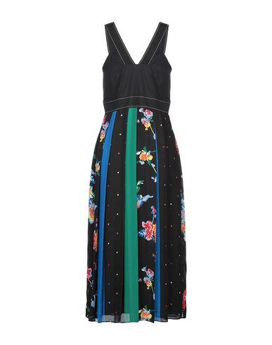 Фото 2 - Платье длиной 3/4 от SPORTMAX CODE черного цвета