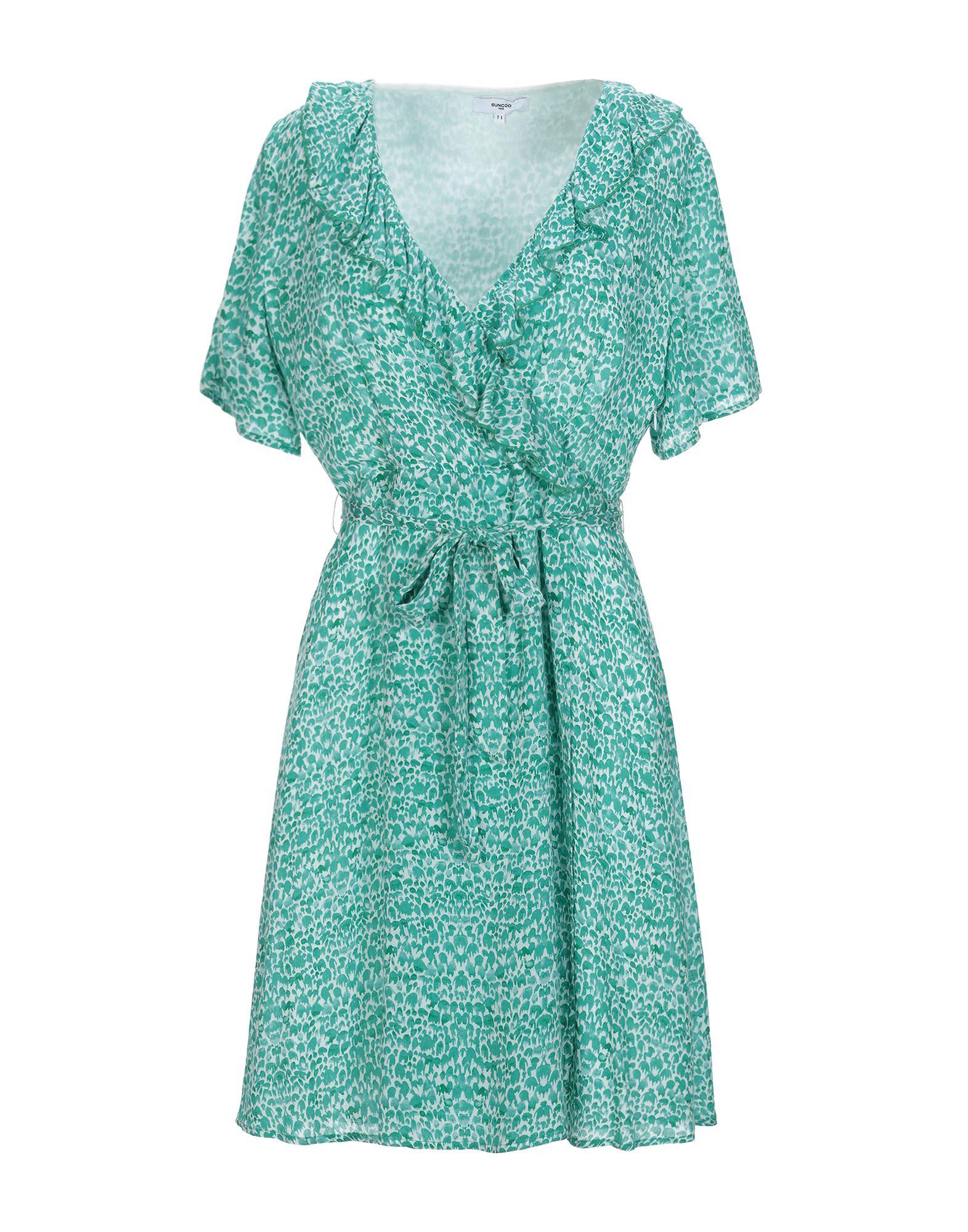 SUNCOO Короткое платье платье