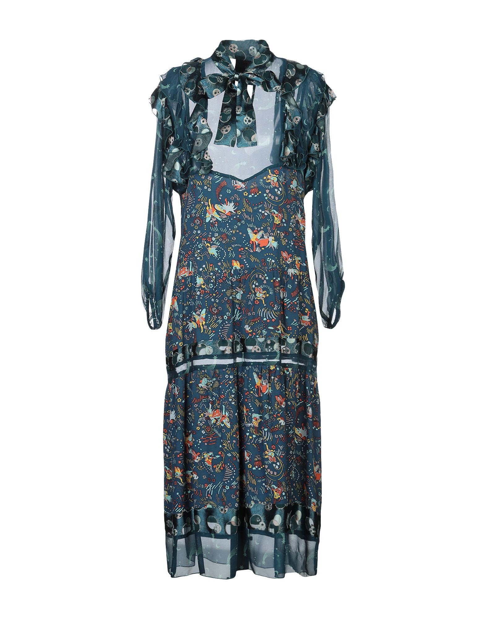 ANNA SUI Платье длиной 3/4 духи anna sui edt 75ml