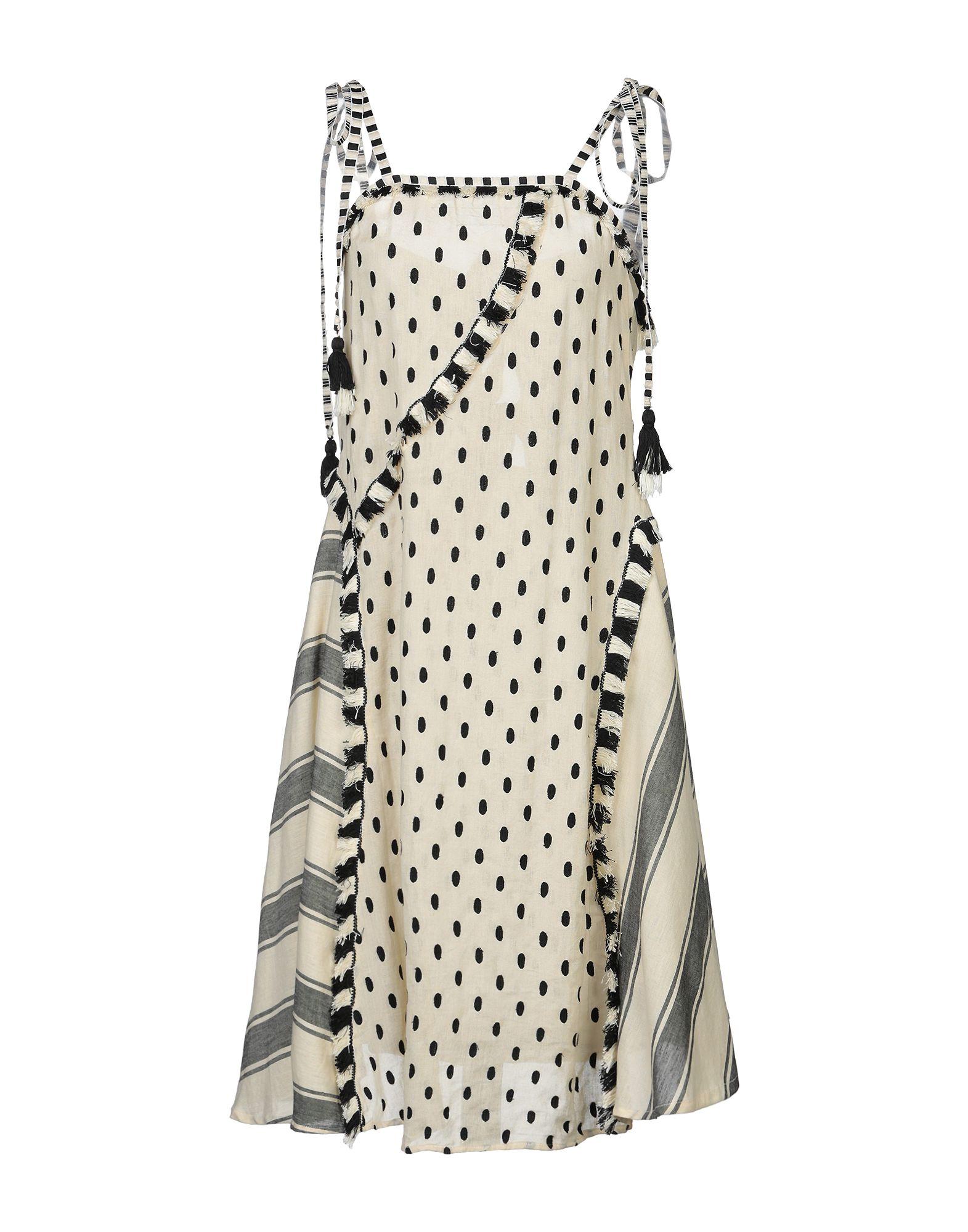 Фото - DODO BAR OR Платье до колена свитшот print bar в горошек