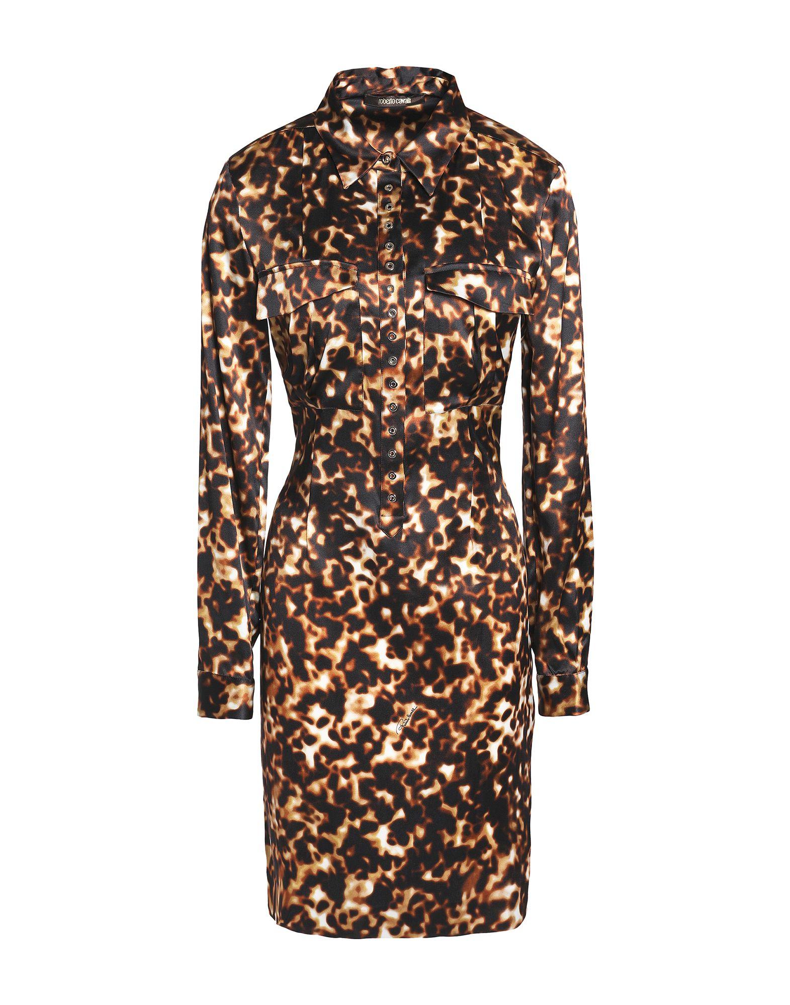 купить ROBERTO CAVALLI Короткое платье по цене 48000 рублей