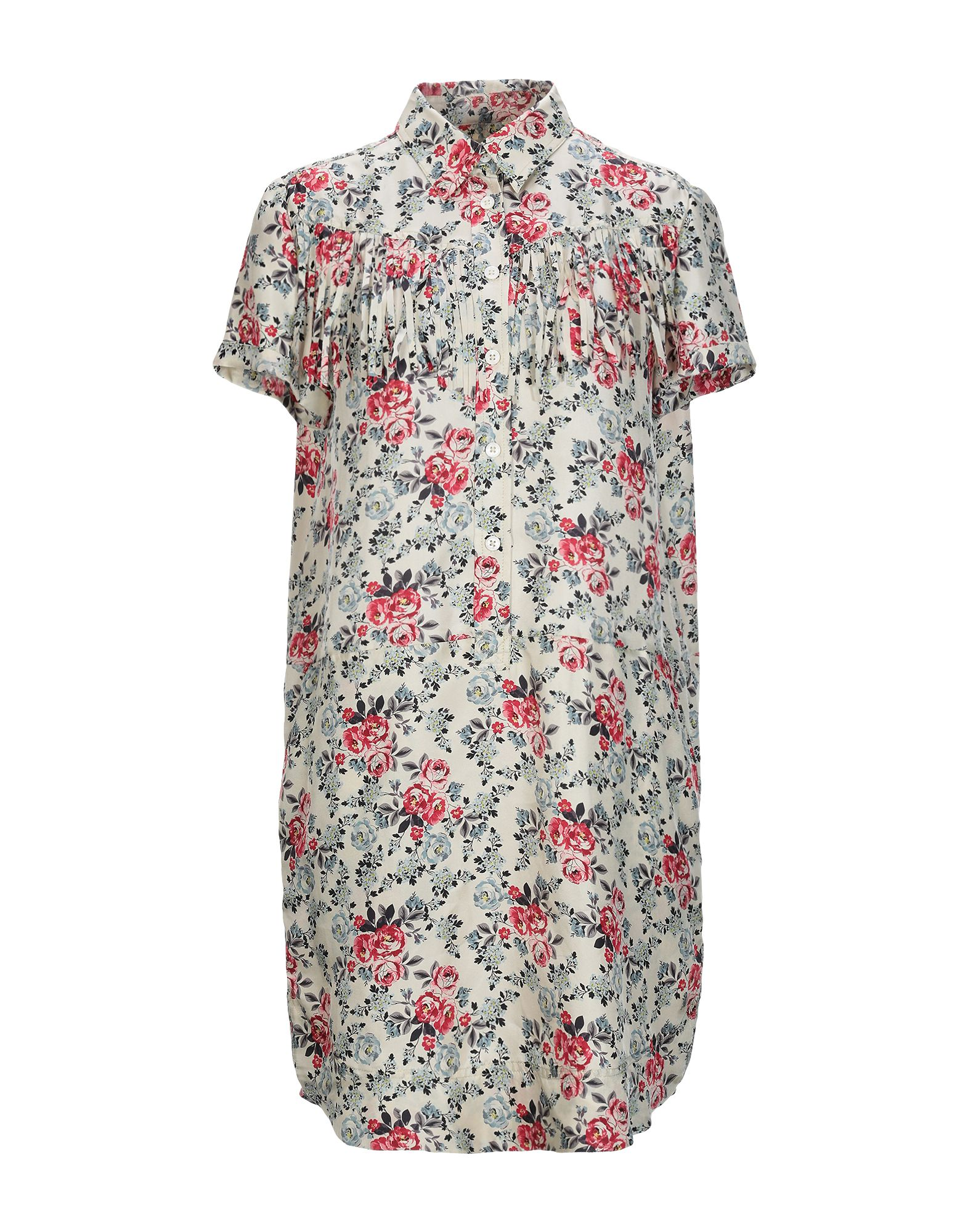 ZADIG & VOLTAIRE Короткое платье платье рубашка fox yulia sway платье рубашка fox