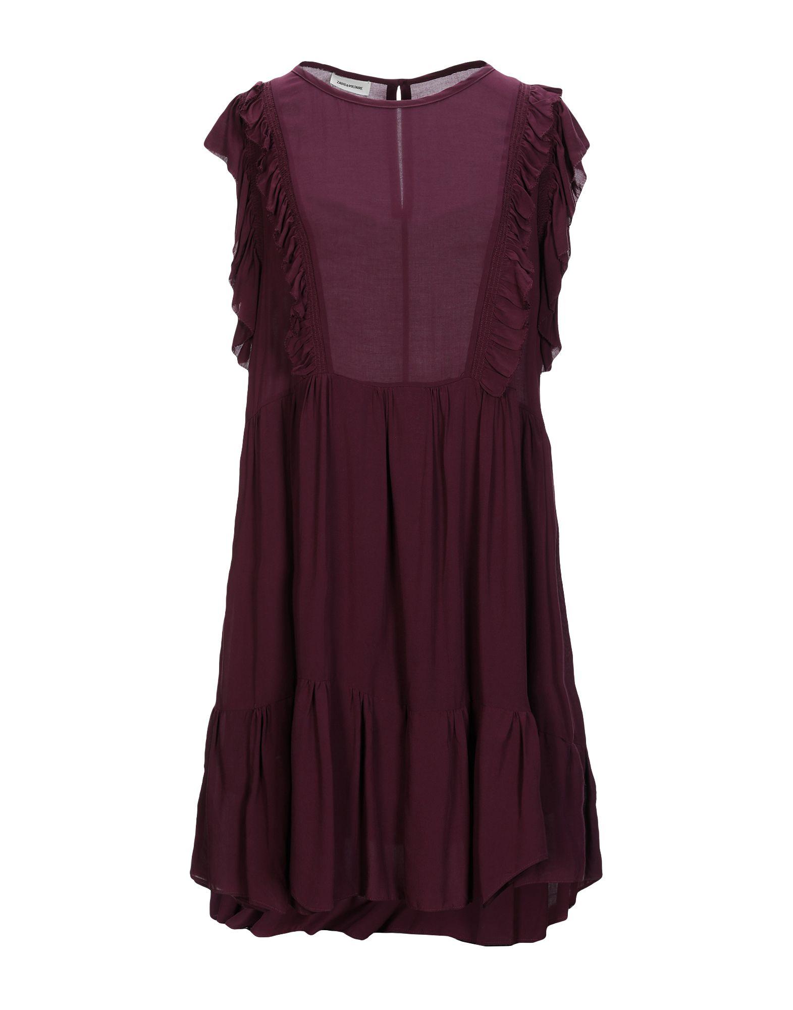ZADIG & VOLTAIRE Короткое платье цена и фото