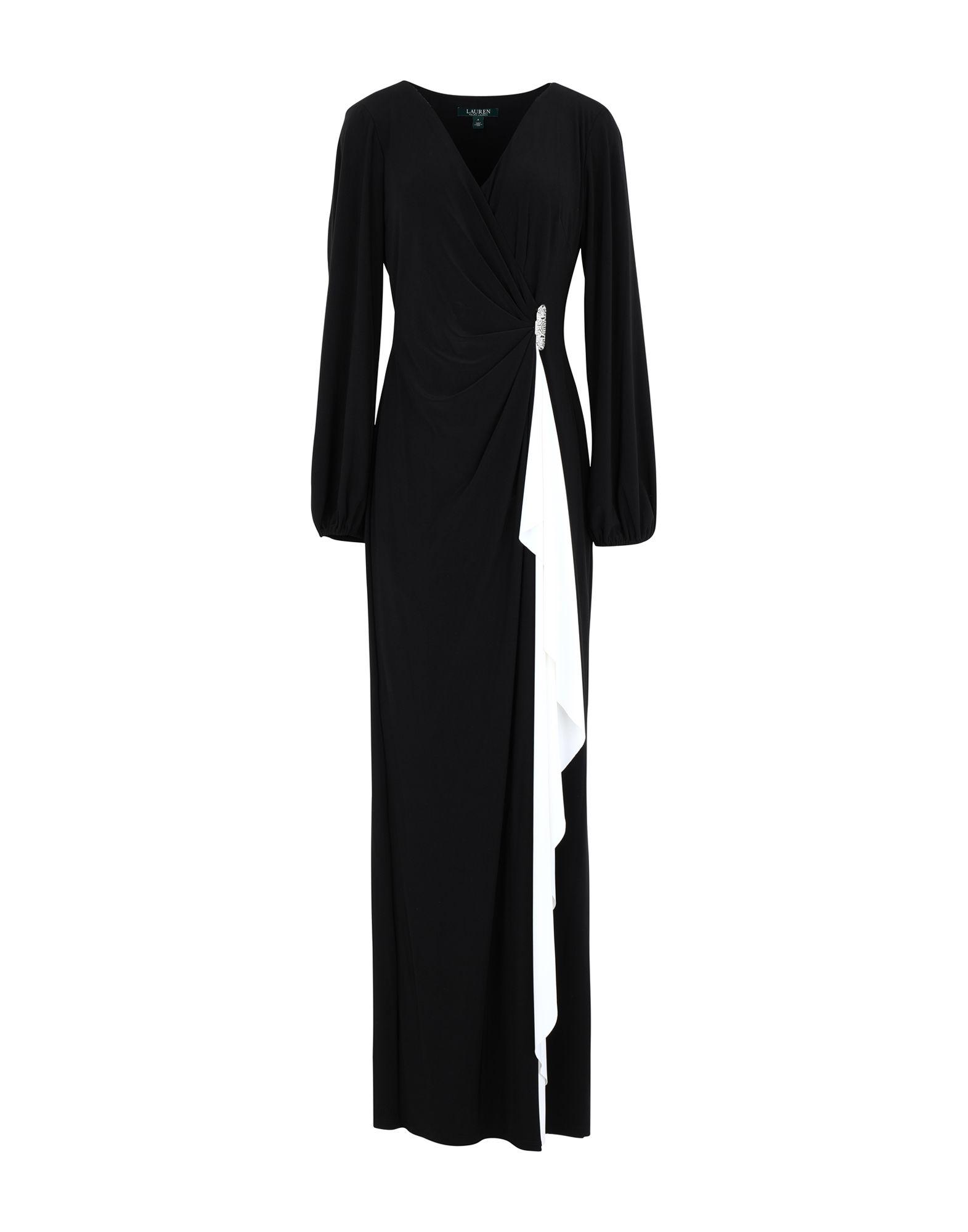 цена LAUREN RALPH LAUREN Длинное платье онлайн в 2017 году