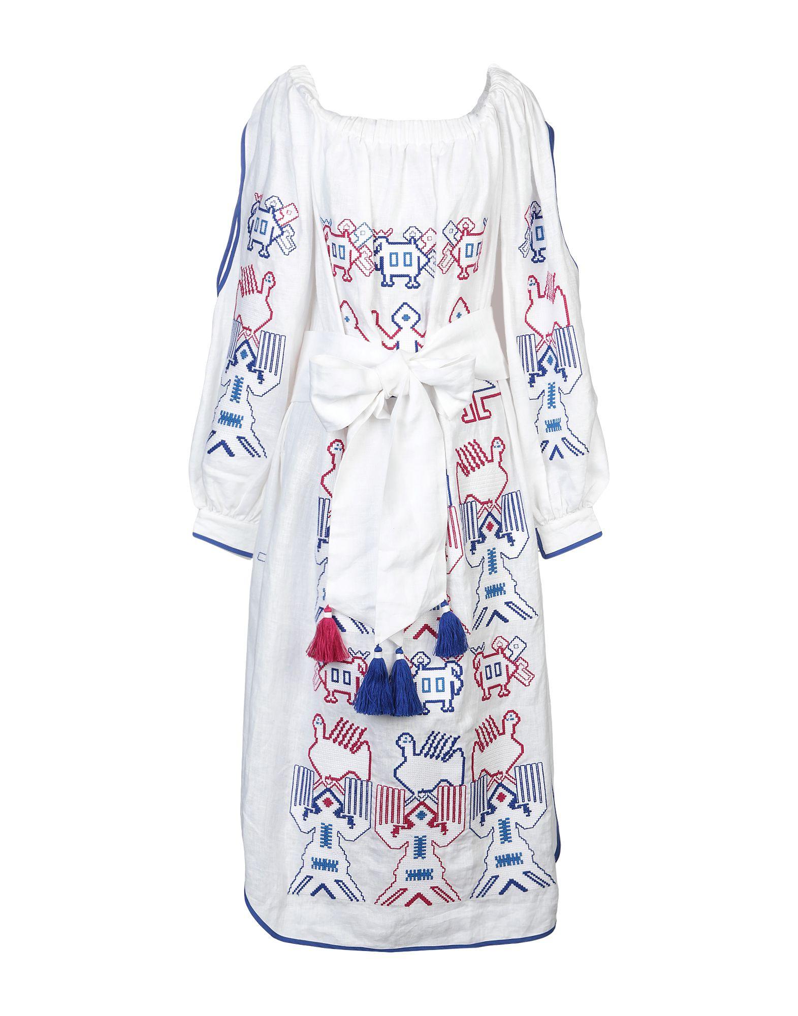 YULIYA MAGDYCH Платье длиной 3/4 yuliya magdych короткое платье