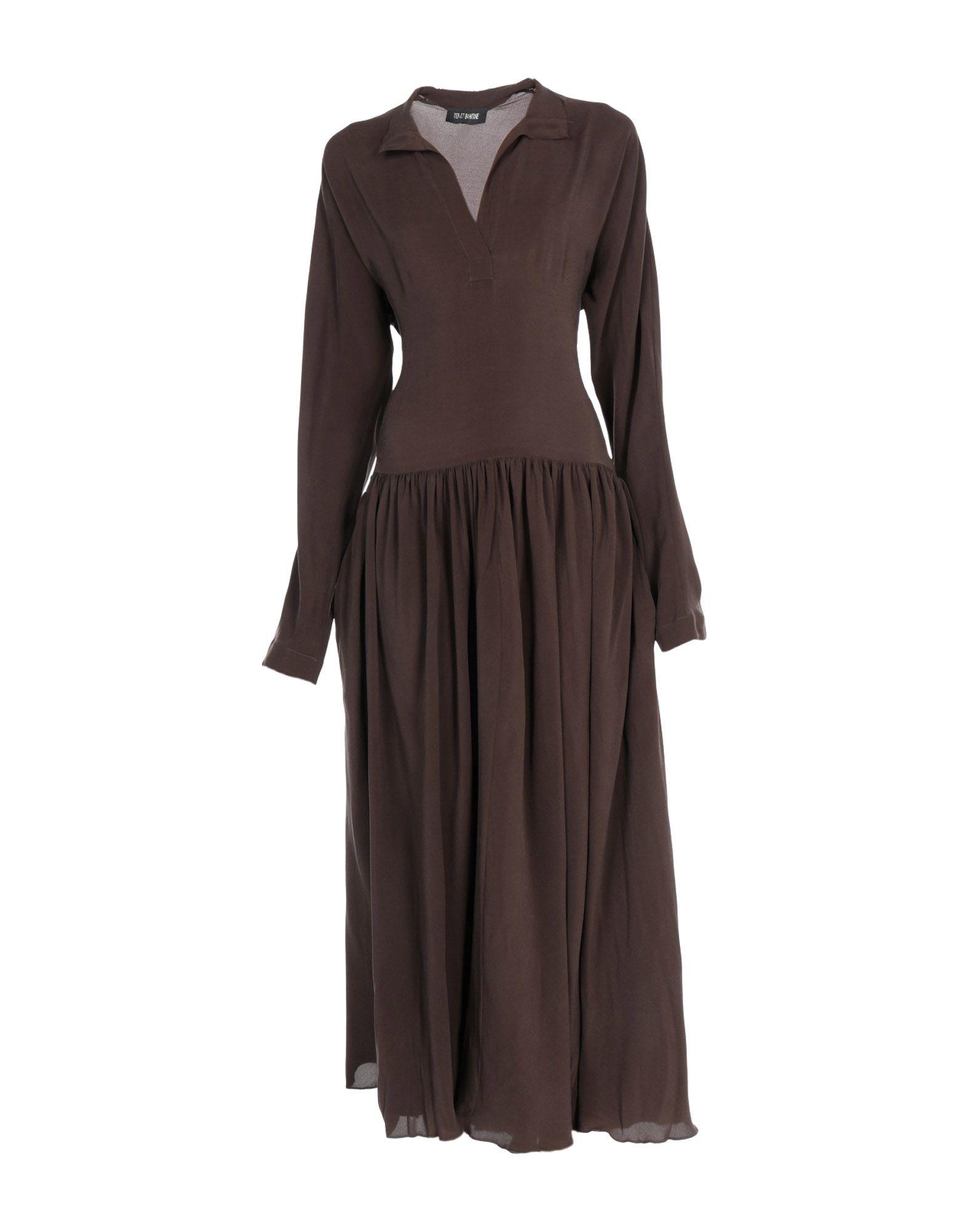 TER ET BANTINE Длинное платье цена 2017