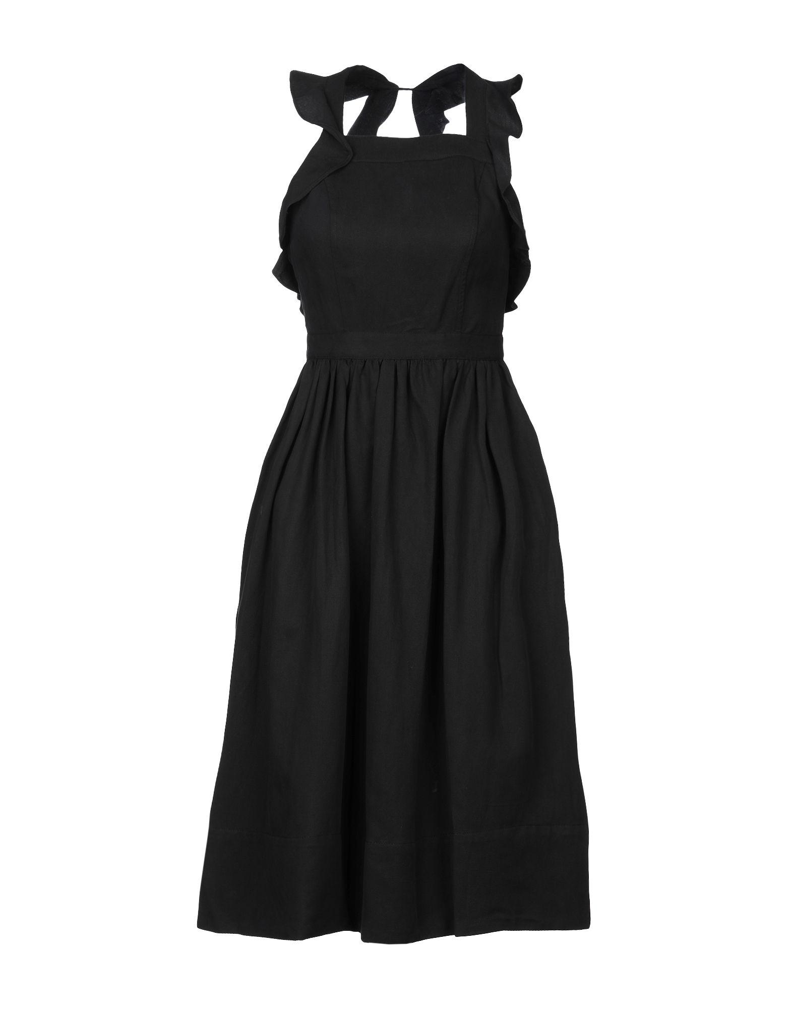 Фото - ULLA JOHNSON Платье до колена ulla johnson платье до колена