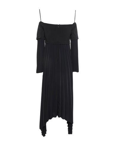 Фото 2 - Платье до колена от A.L.C. черного цвета