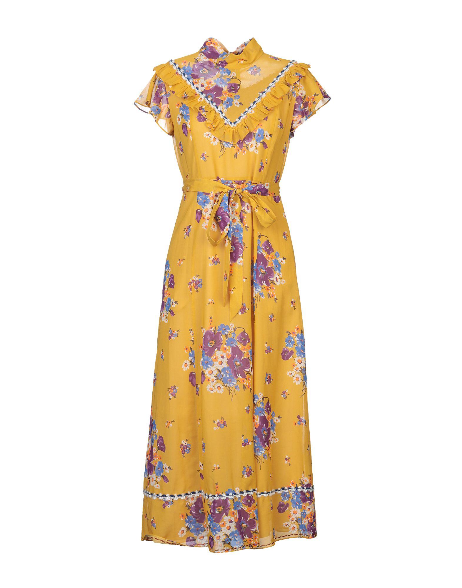 COACH Длинное платье