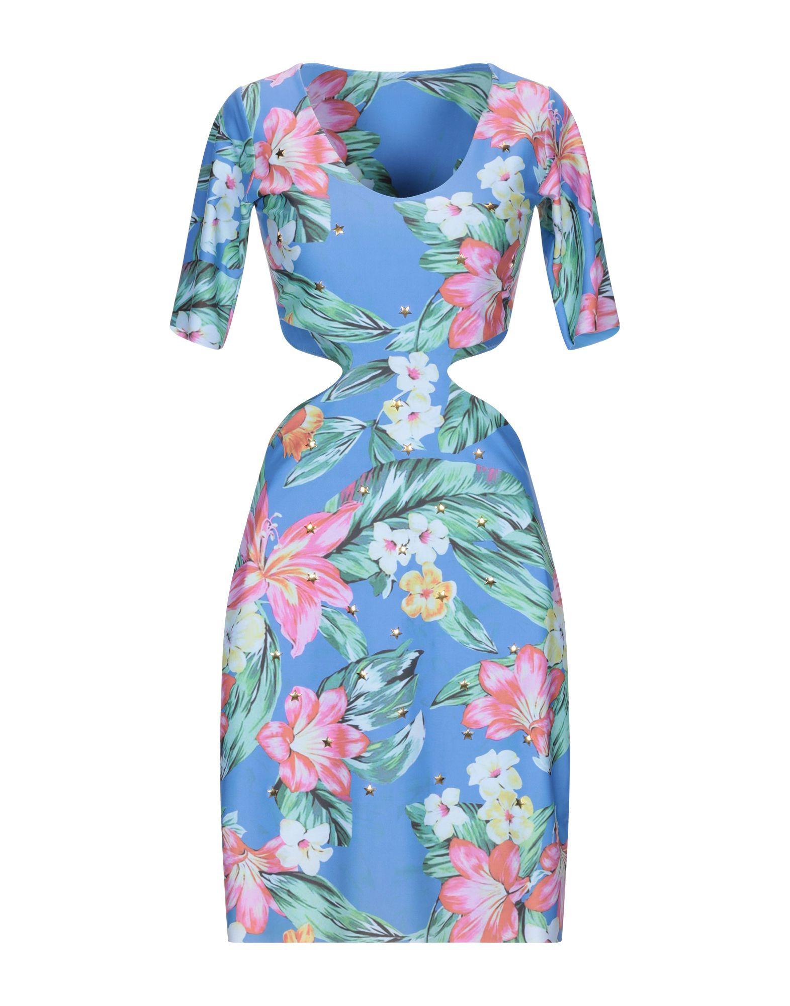 LA FILLE des FLEURS Короткое платье foti la biellese короткое платье
