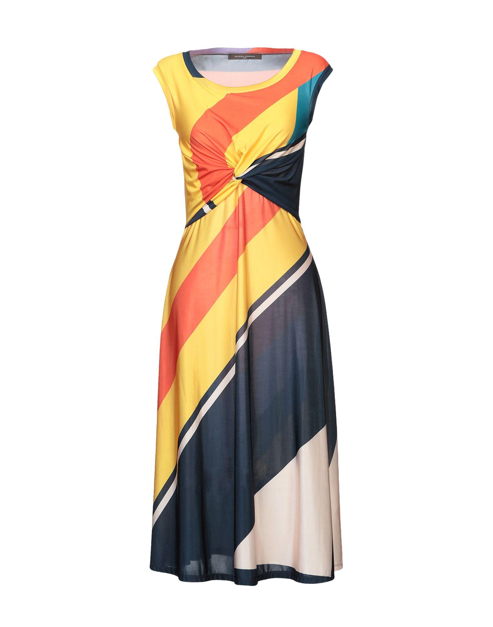 Фото - SANDRO FERRONE Платье длиной 3/4 sandro ferrone короткое платье