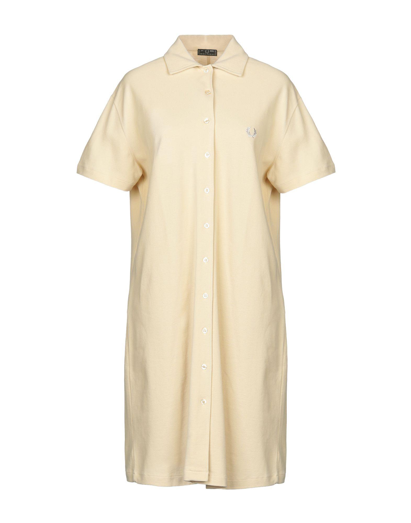 FRED PERRY Платье до колена платье merry perry merry perry mp002xw15g6i
