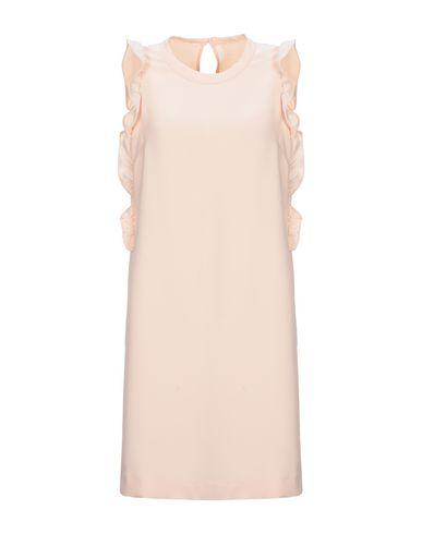 Купить Женское короткое платье  цвет телесный