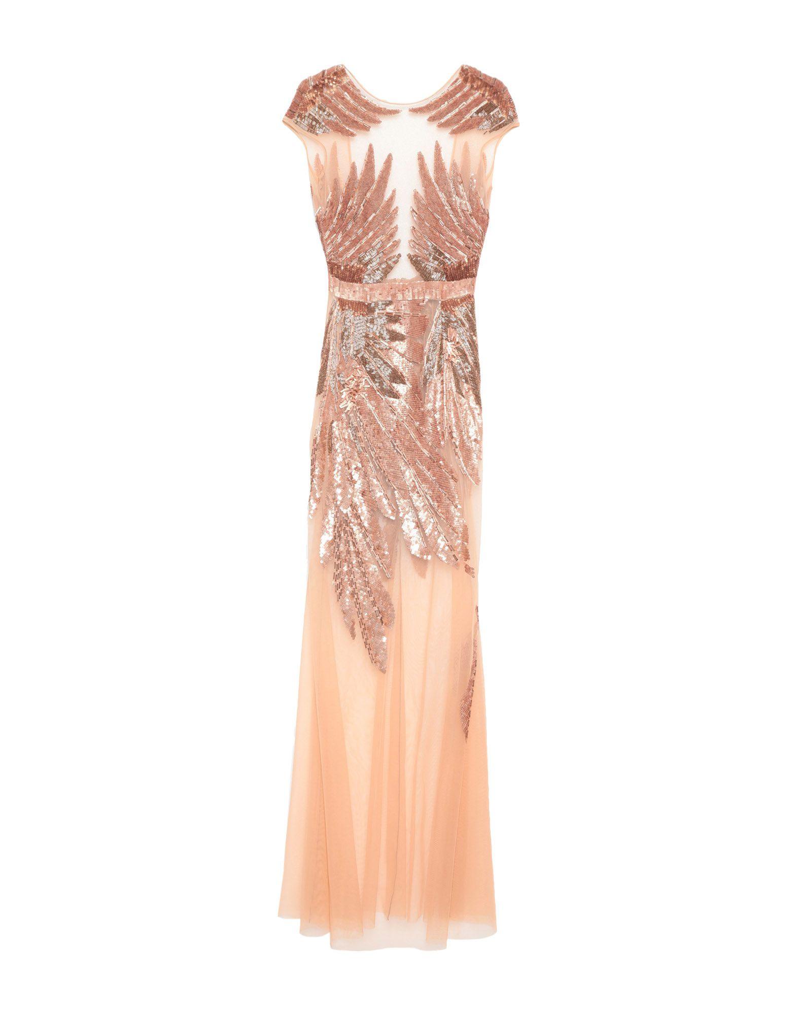 ELISABETTA FRANCHI Длинное платье bose qc20 активного шумоподавления наушники черный дль компании apple