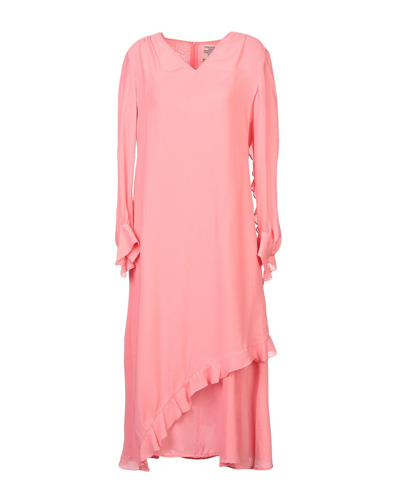BAUM UND PFERDGARTEN Платье длиной 3/4 baum und pferdgarten юбка длиной 3 4