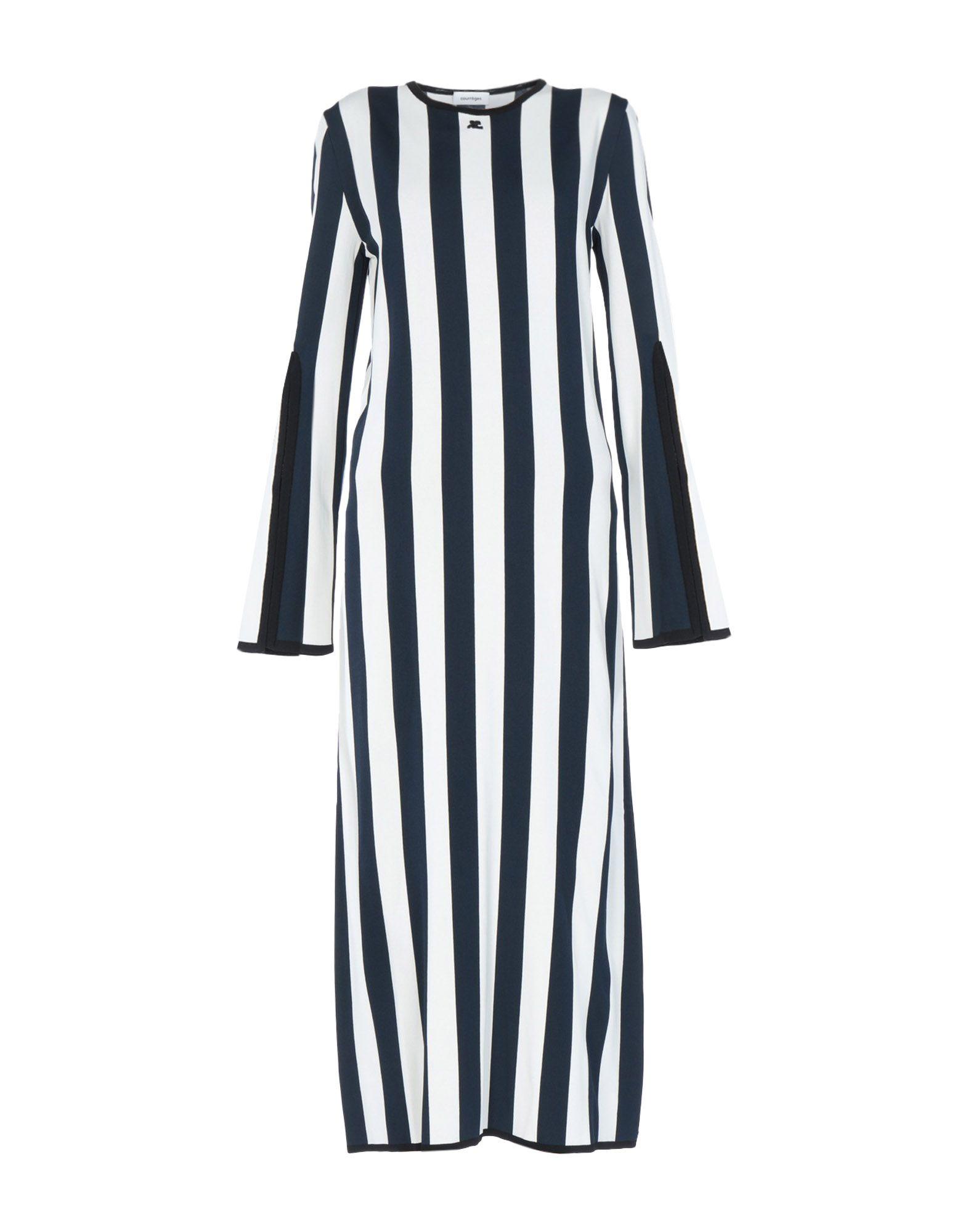 COURRÈGES Платье длиной 3/4 courrèges короткое платье