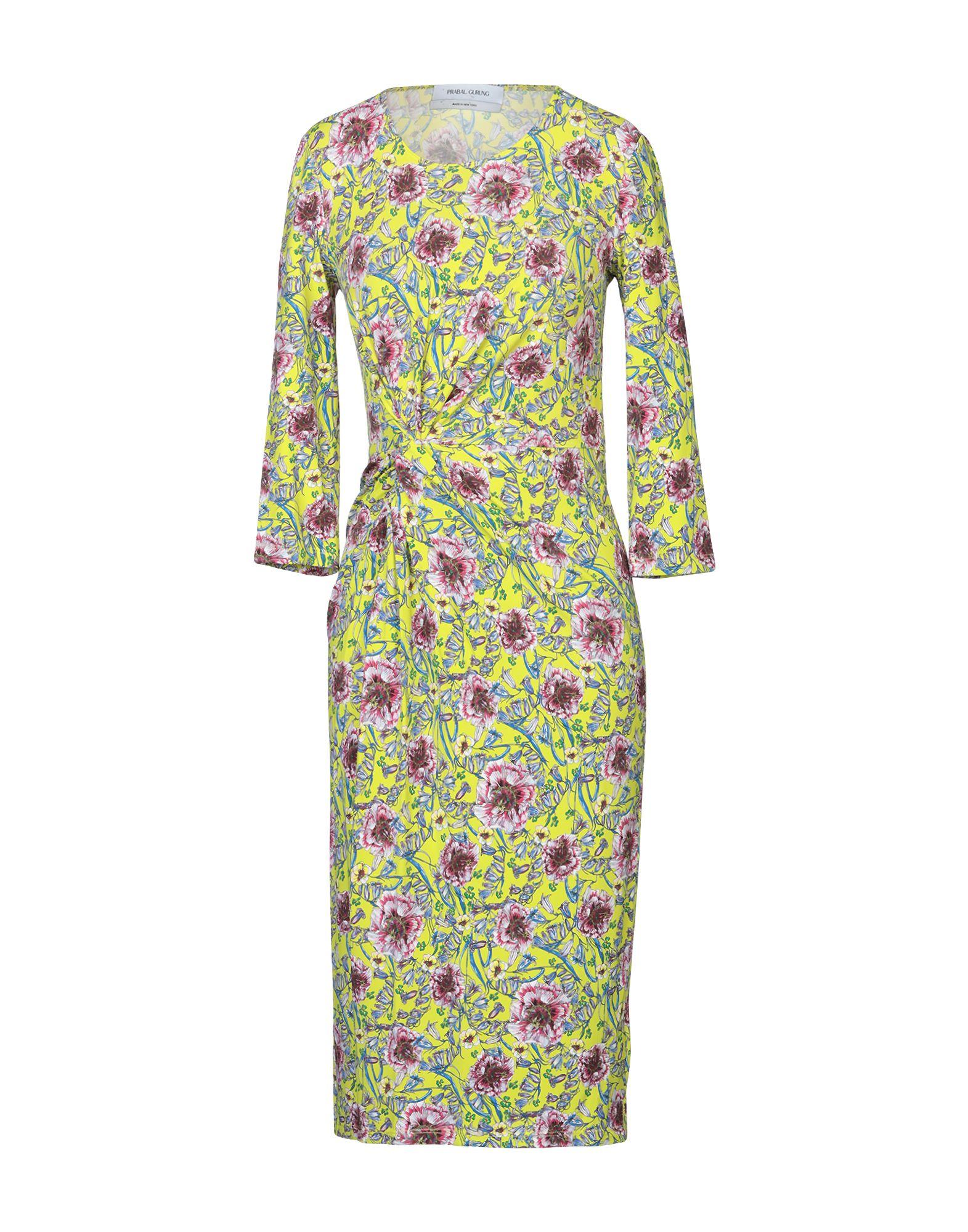 PRABAL GURUNG Платье до колена prabal gurung юбка длиной 3 4
