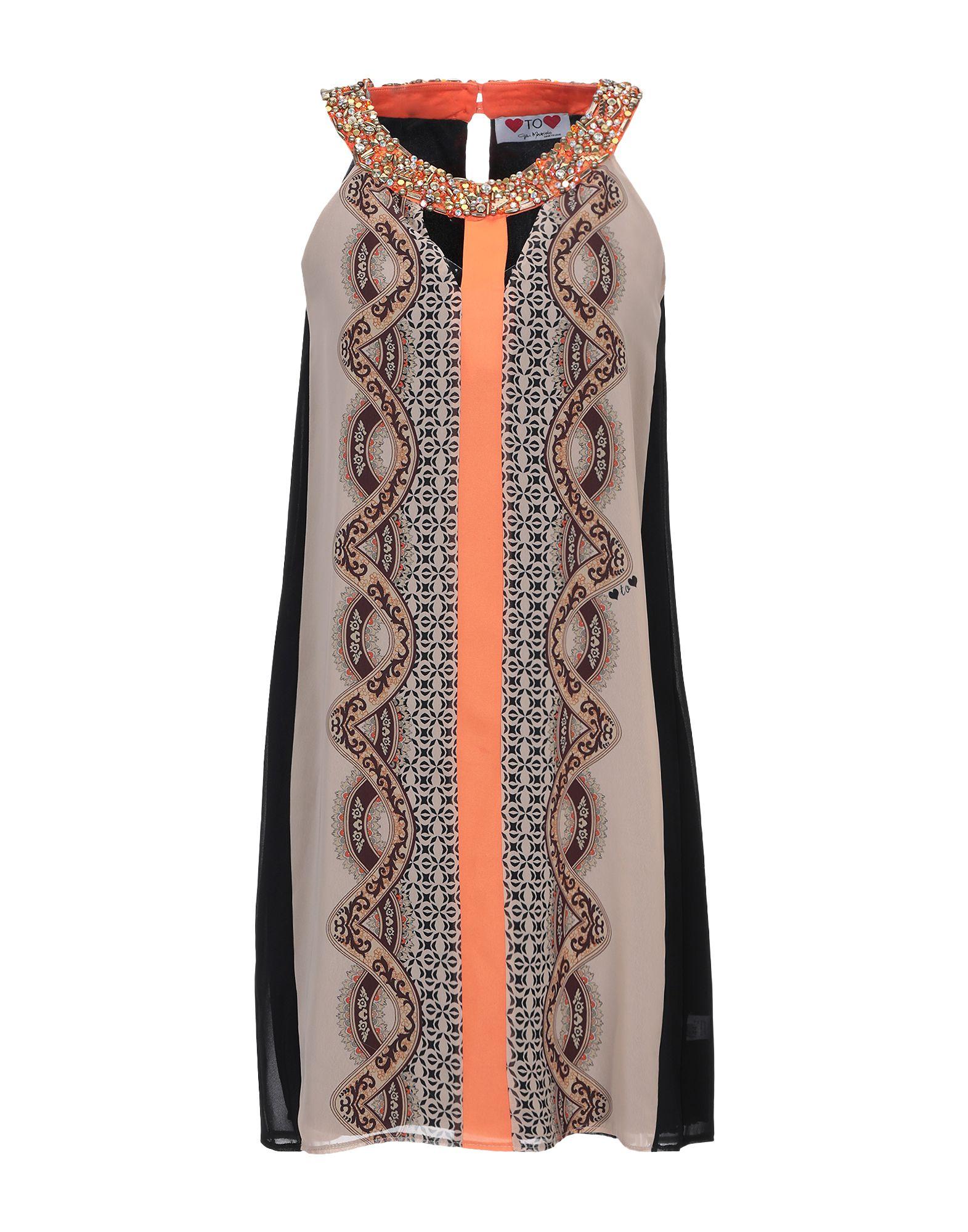 GAI MATTIOLO Короткое платье жакет с меховой отделкой gai mattiolo