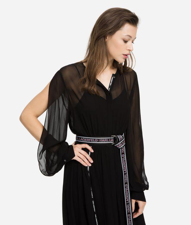 Karl Lagerfeld - Robe chemise longue - 2