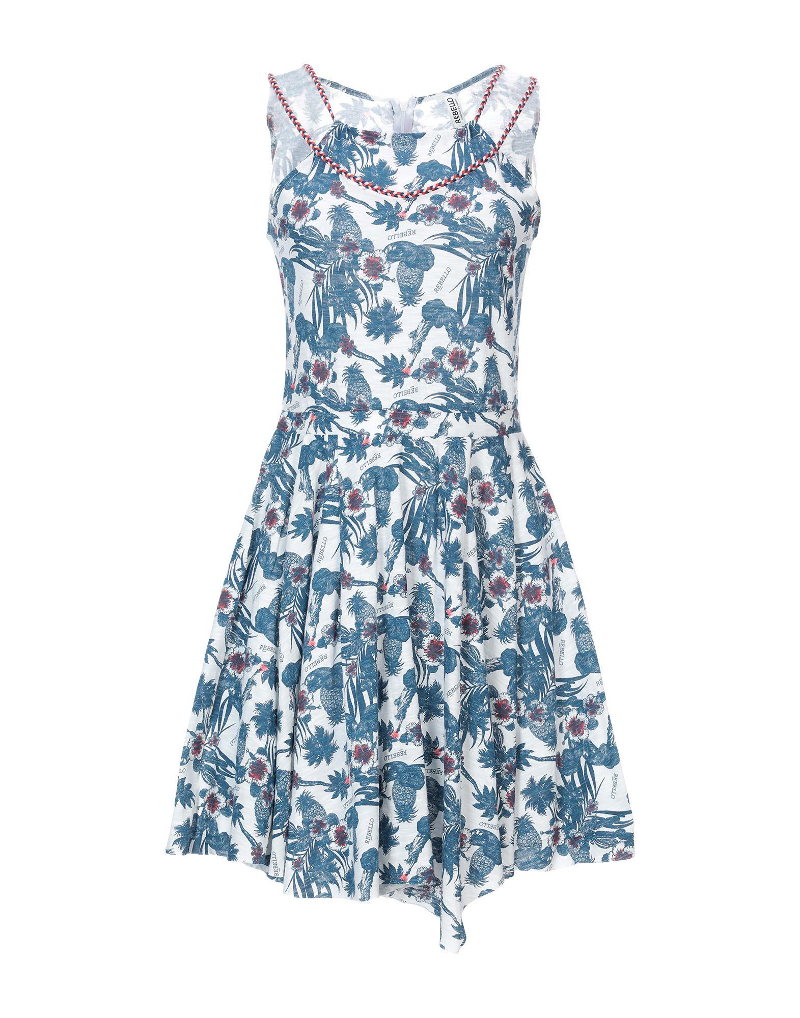 REBELLO Короткое платье цена 2017