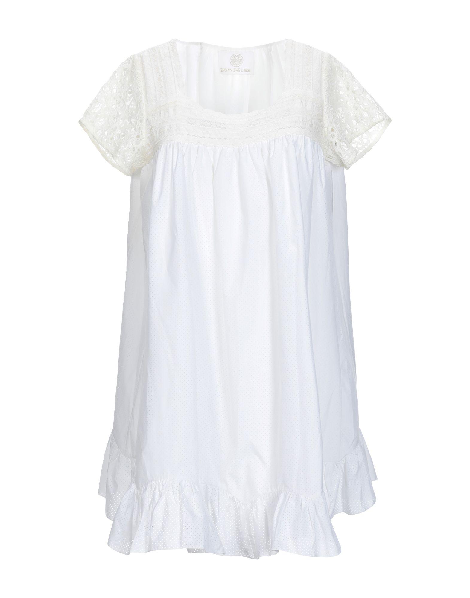 ZAYAN THE LABEL Короткое платье zayan the label платье до колена