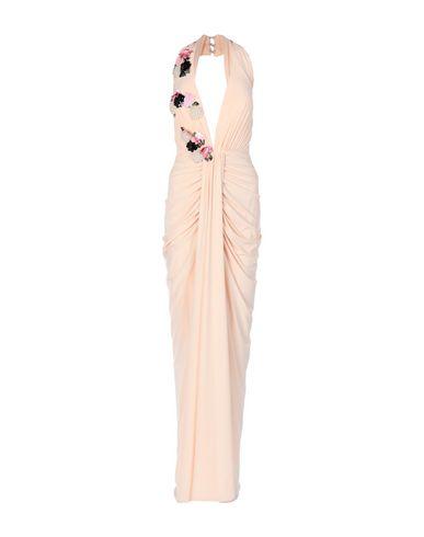 Фото - Женское длинное платье  цвет телесный