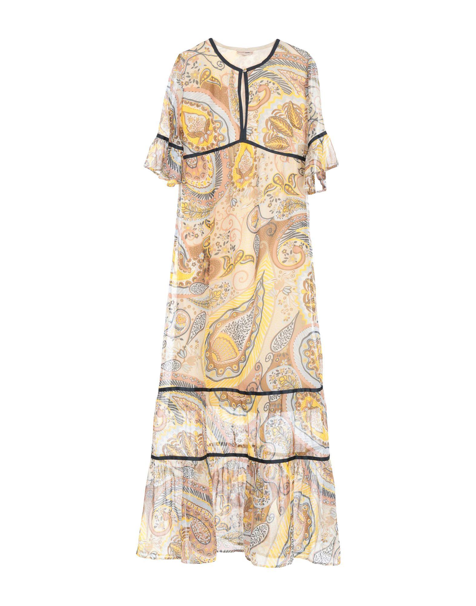 SCEE by TWINSET Длинное платье